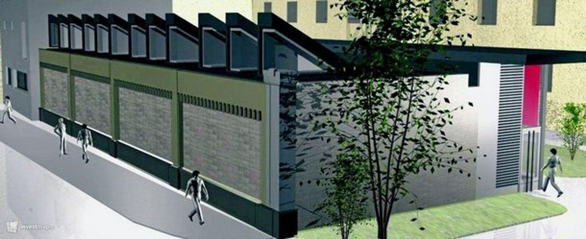 Budowa sali koncertowej (budynek E) i remont sal dydaktycznych (budynek D) (Akademia Muzyczna)