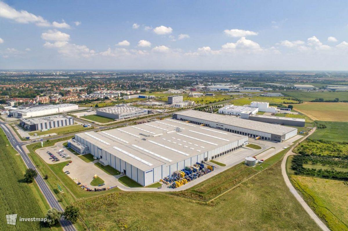 Zdjęcie Kompleks magazynowy Goodman Wrocław IV Logistics Centre fot. Orzech