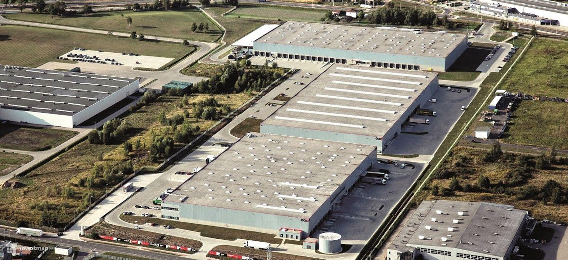 Centrum logistyczne SEGRO Industrial Park Tychy