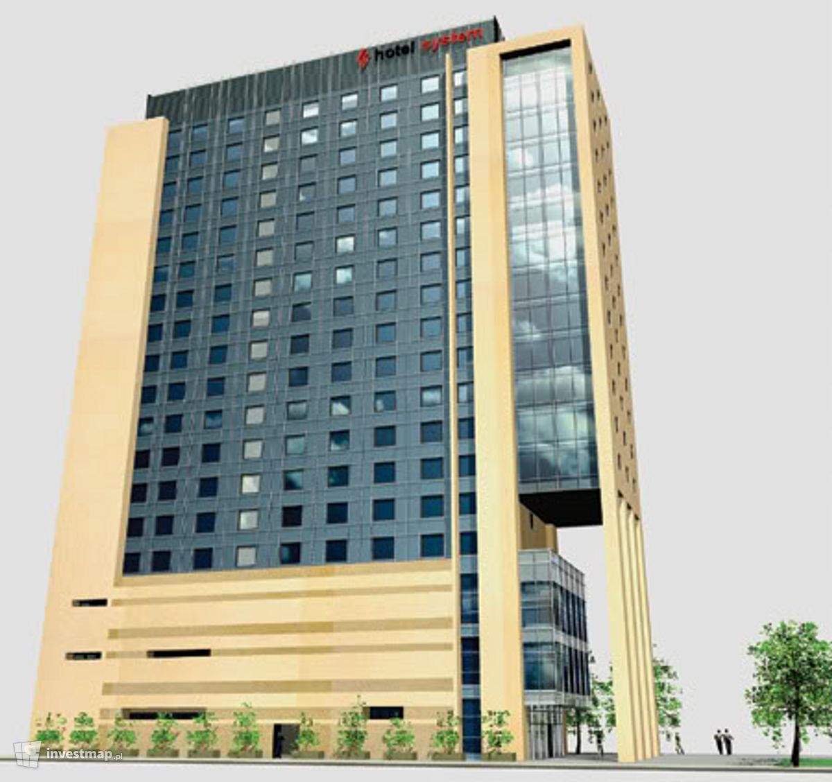 Wizualizacja Hotel Salwator dodał MatKoz