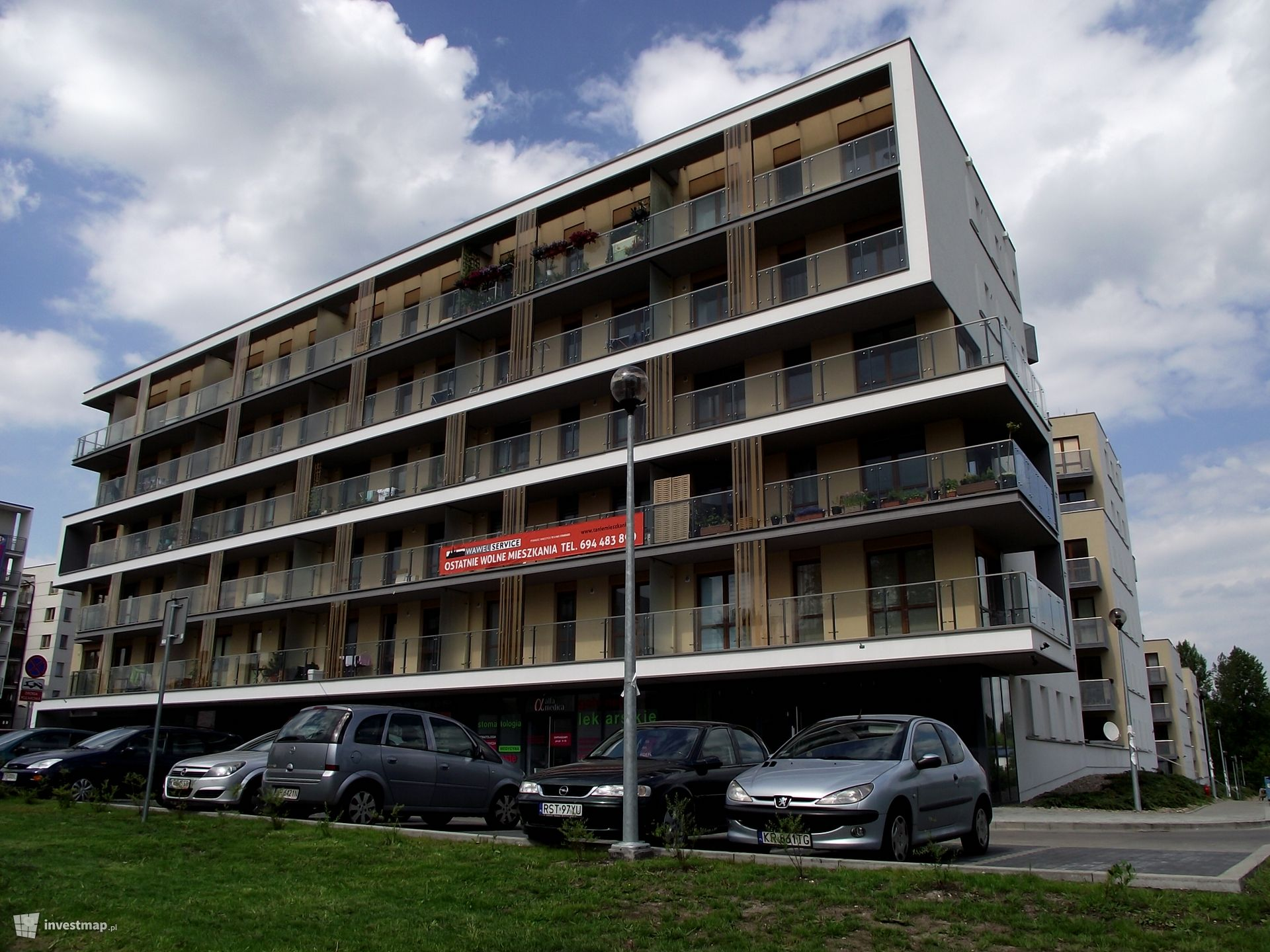 Budynki Mieszkalne Wawel Service ul. Wielicka 44