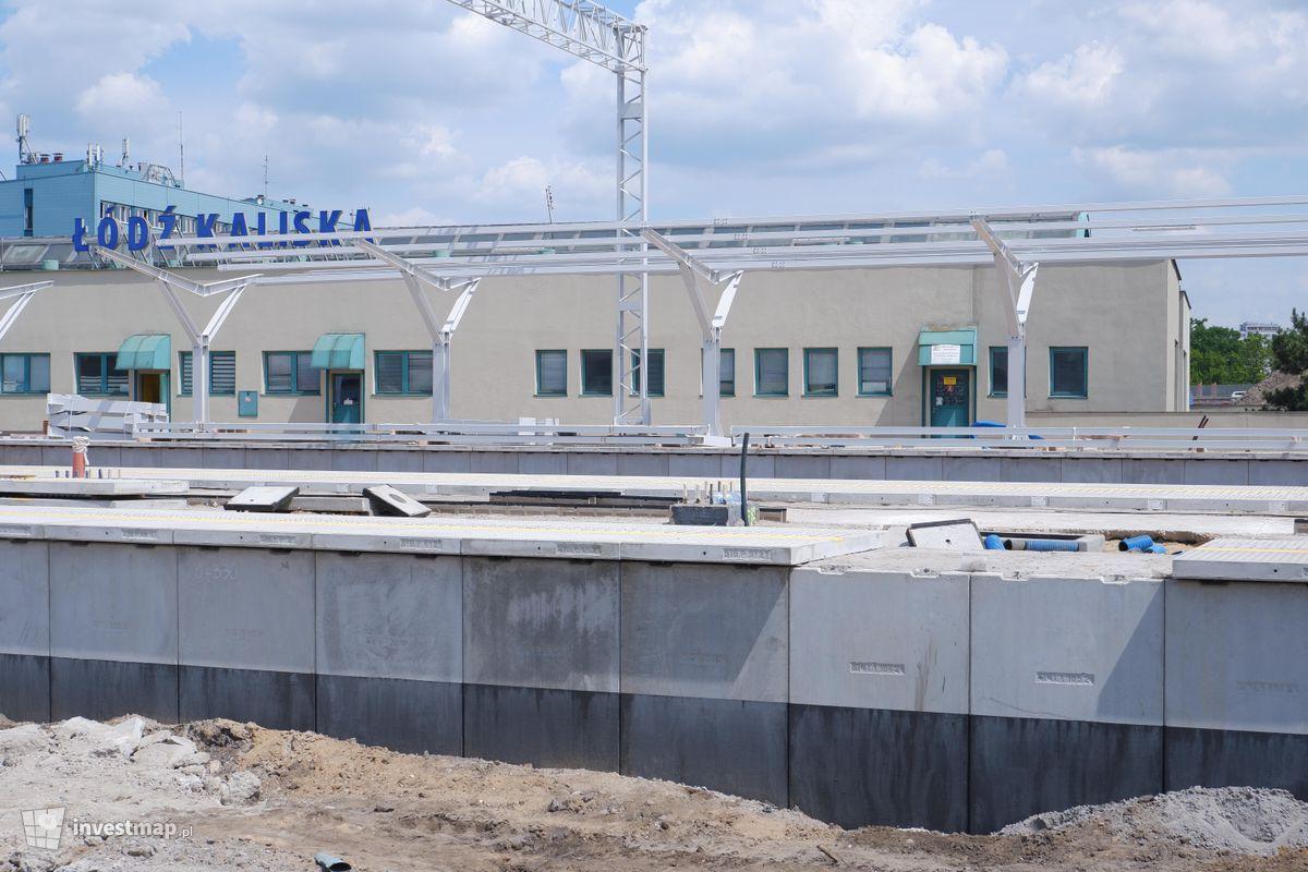 Zdjęcie Dworzec Łódź Kaliska (remont) fot. Jakub Zazula