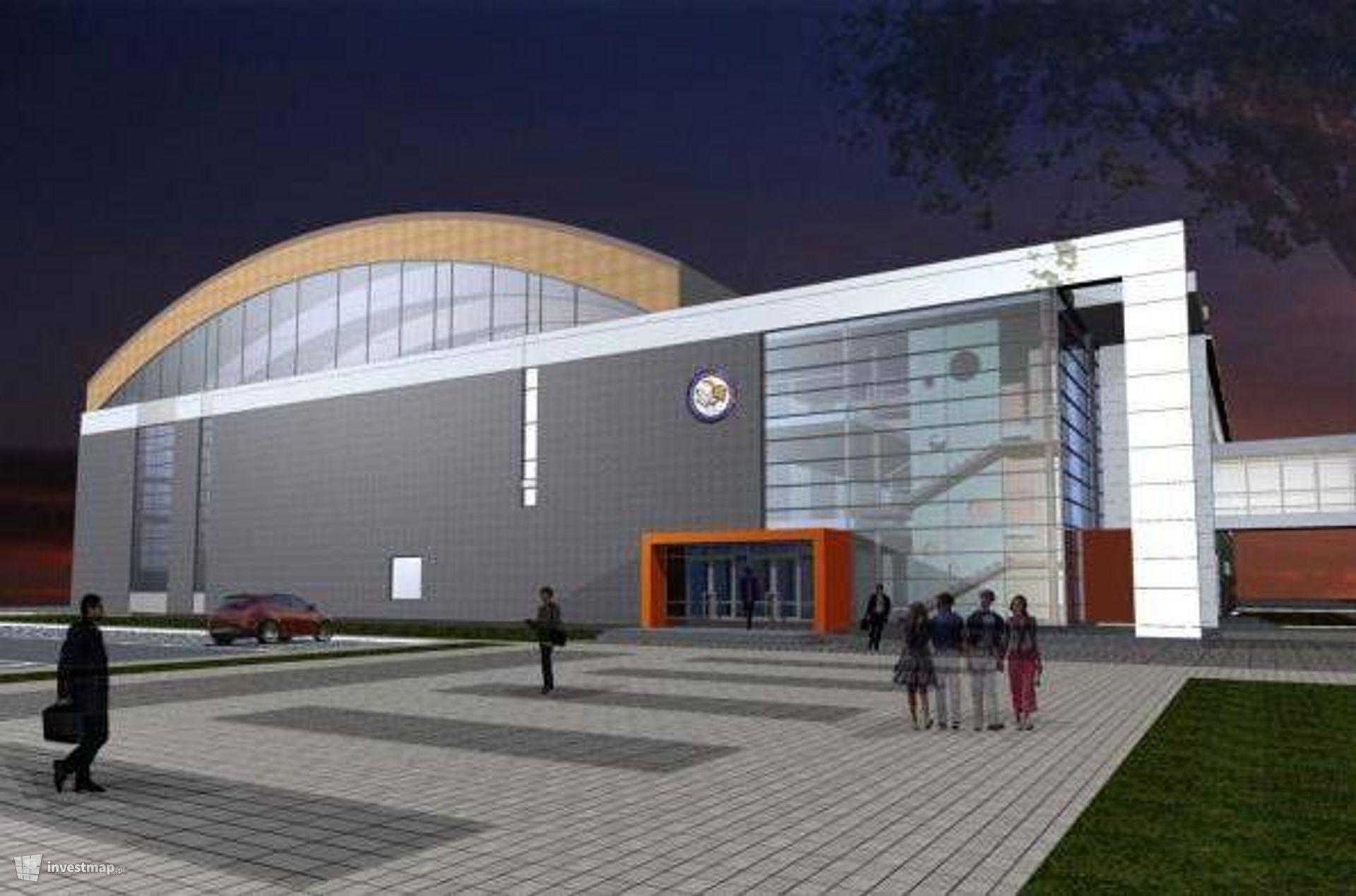 Hala Sportowa i Dom Studenta
