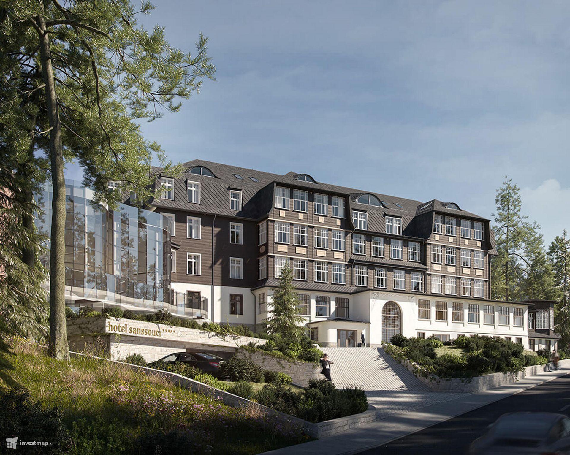 Hotel Sanssouci (rozbudowa i przebudowa)