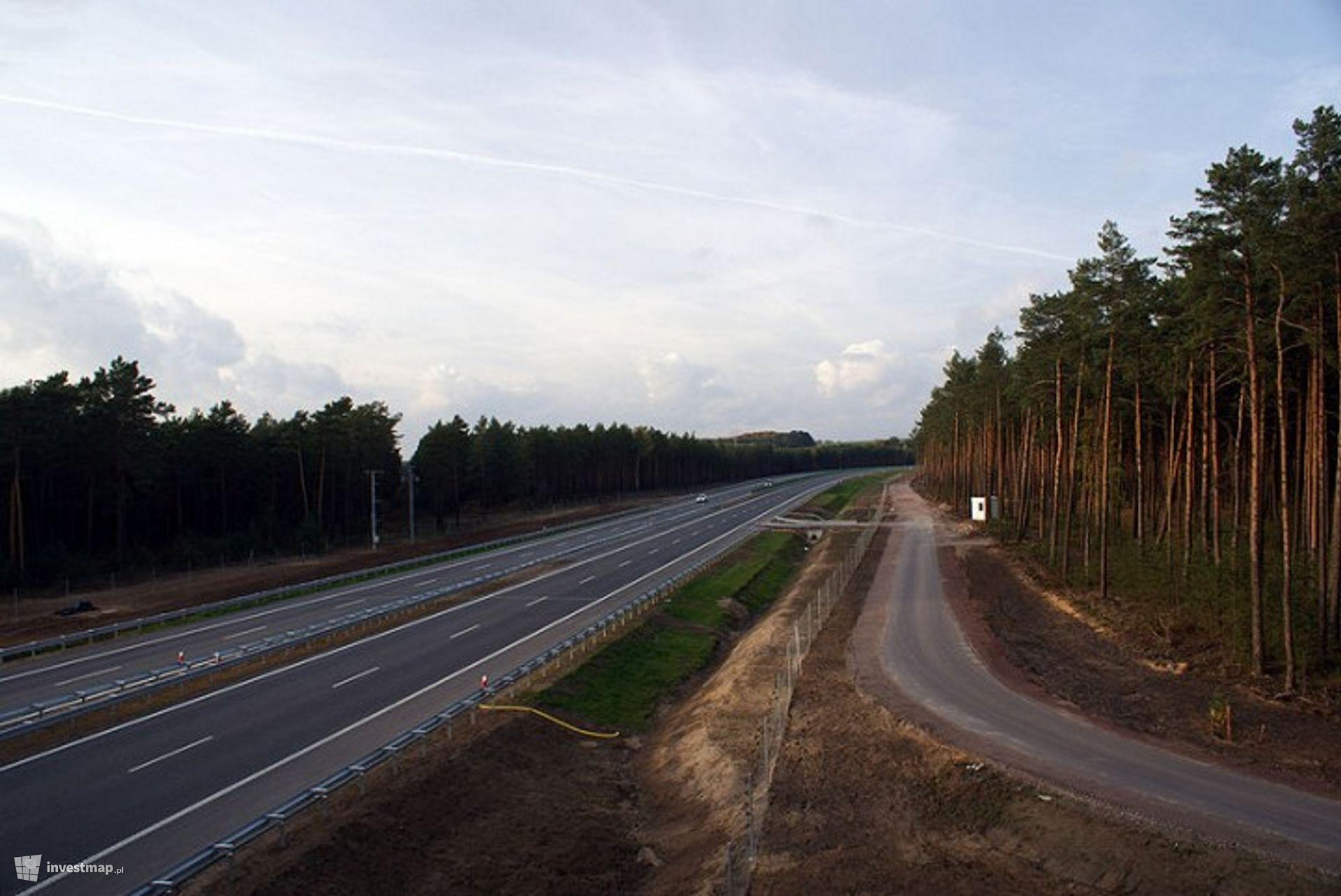 A1, węzeł Kowal - węzeł Sójki