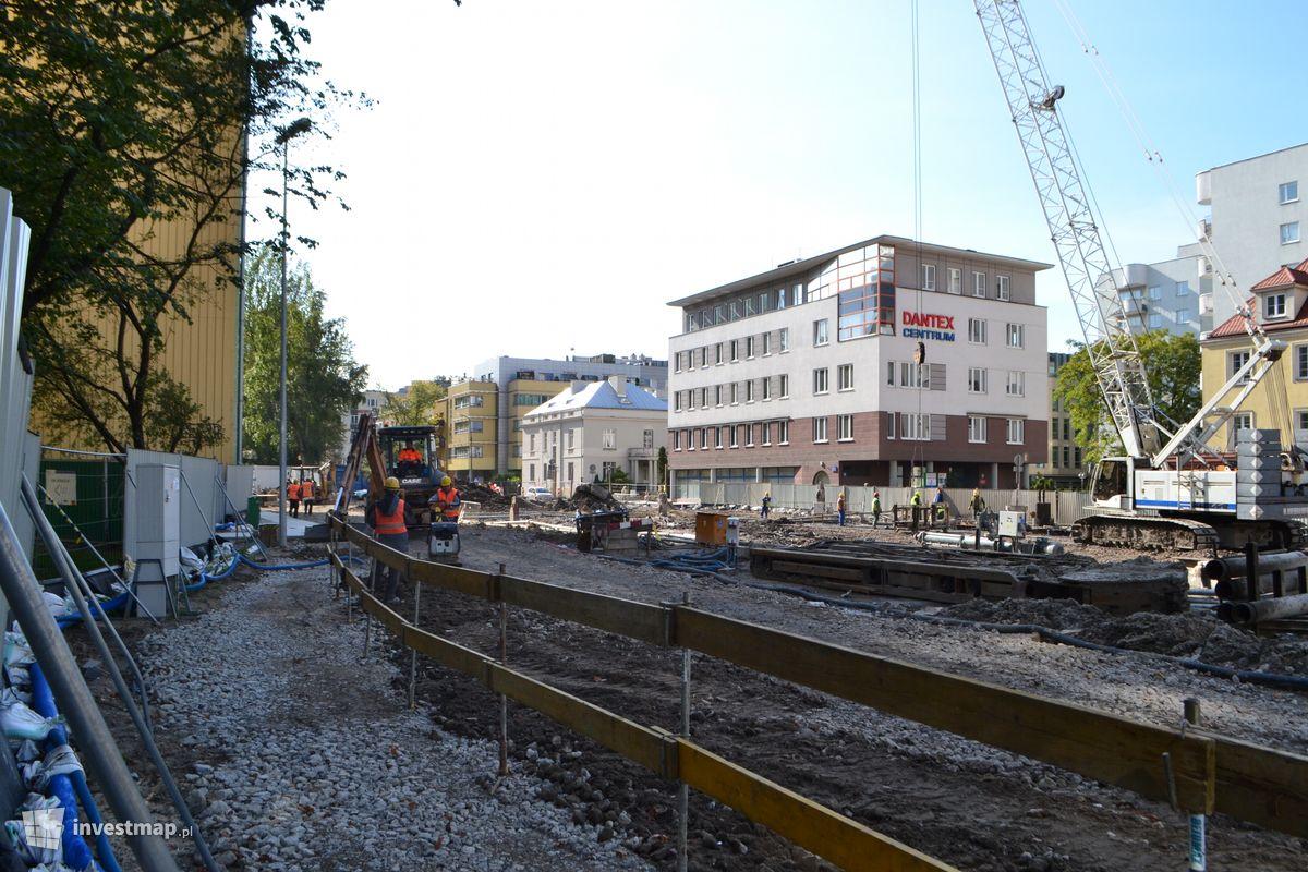 Zdjęcie II linia metra fot. Jan Augustynowski