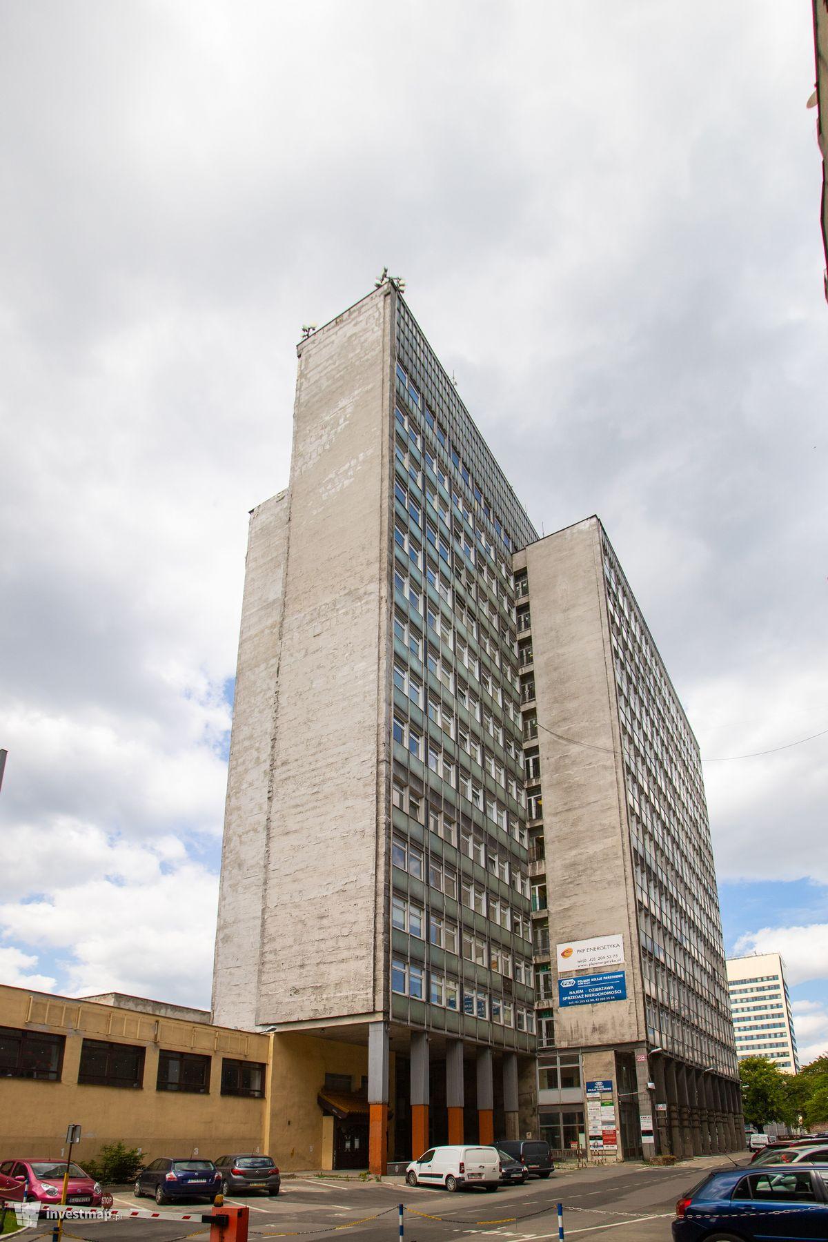 Zdjęcie Wieżowiec PKP SA w Łodzi (Żyleta) fot. Jakub Zazula