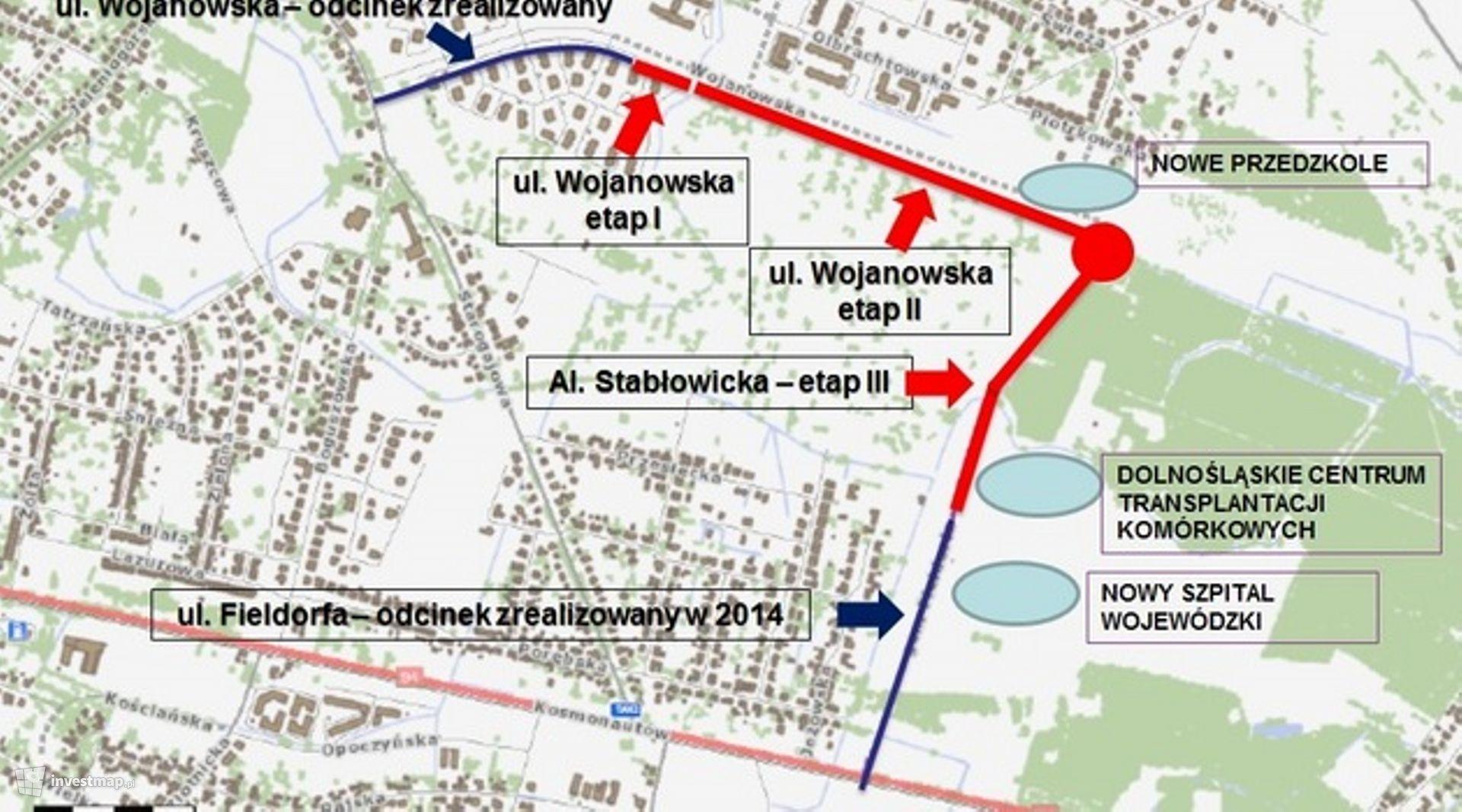 Ul. Wojanowska (rozbudowa)