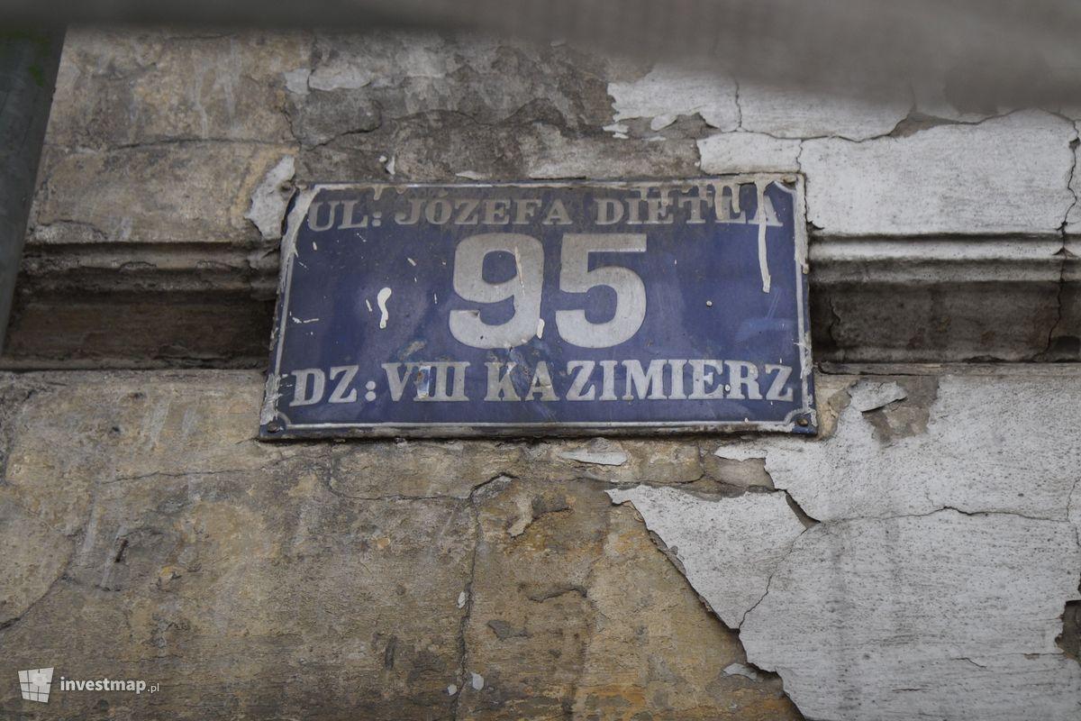 Zdjęcie Remont Kamienicy, ul. Dietla 95 fot. Damian Daraż