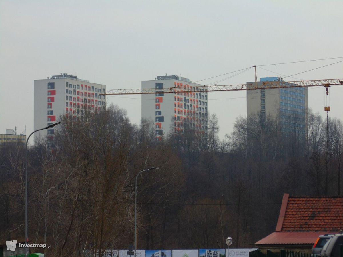 Zdjęcie Przebudowa akademików UJ, ul. Badurskiego fot. Damian Daraż