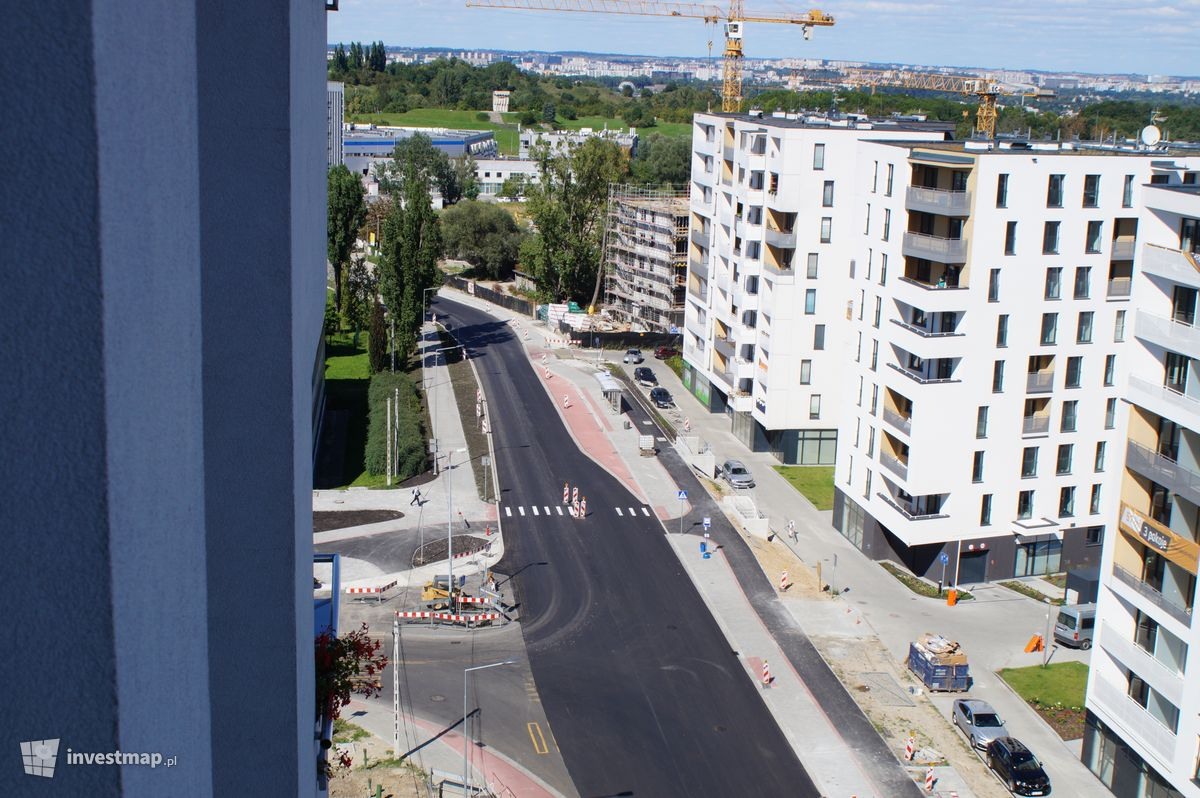 Zdjęcie Ulica Walerego Sławka fot. Damian Daraż