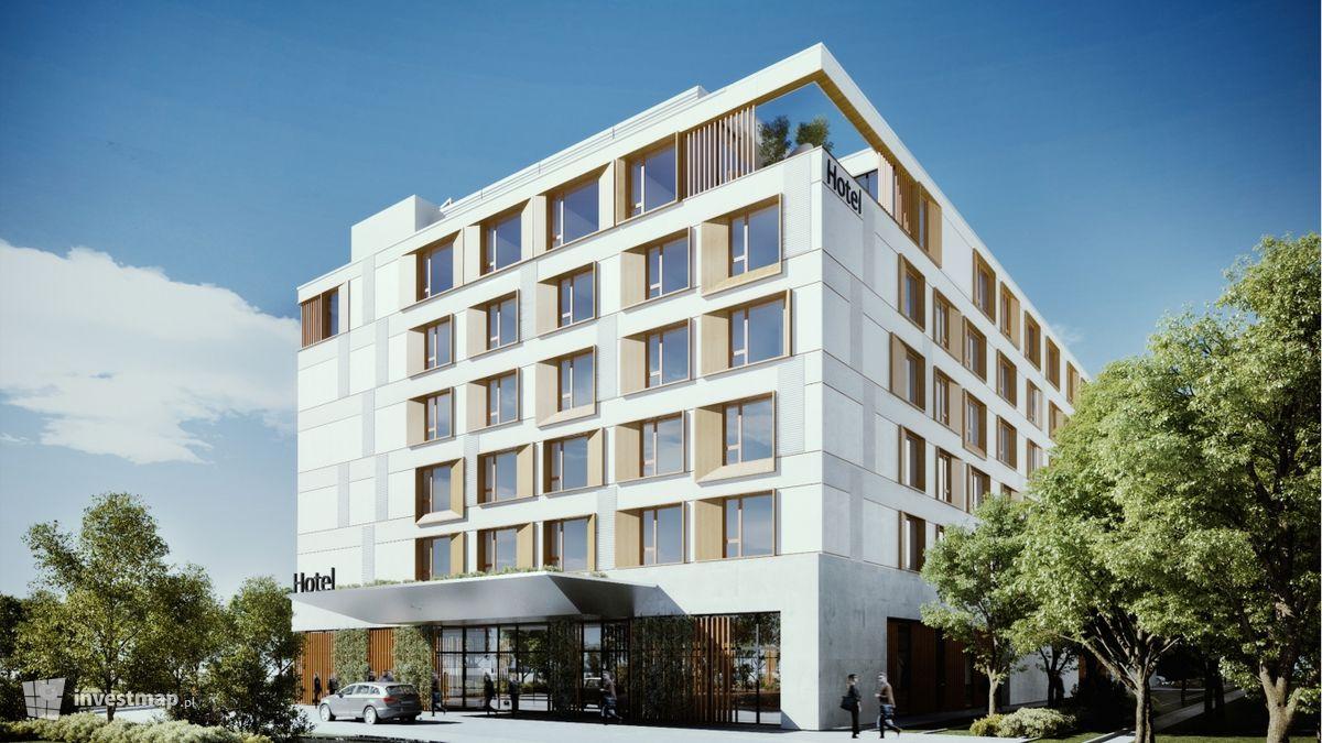 Wizualizacja Hotel Hampton by Hilton Kraków Airport dodał Damian Daraż