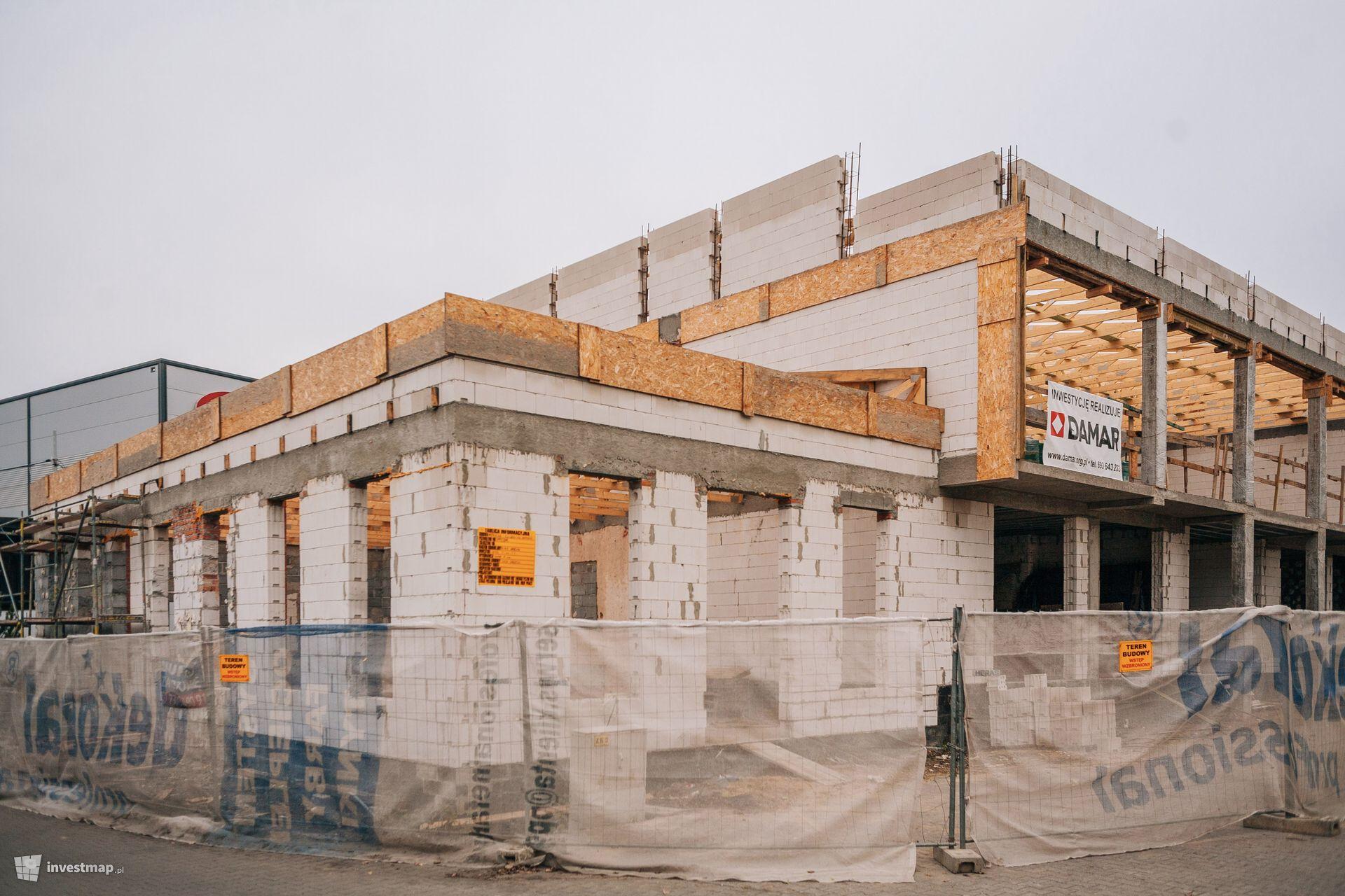 Rozbudowa i nadbudowa budynku biurowego, ul. Opolska