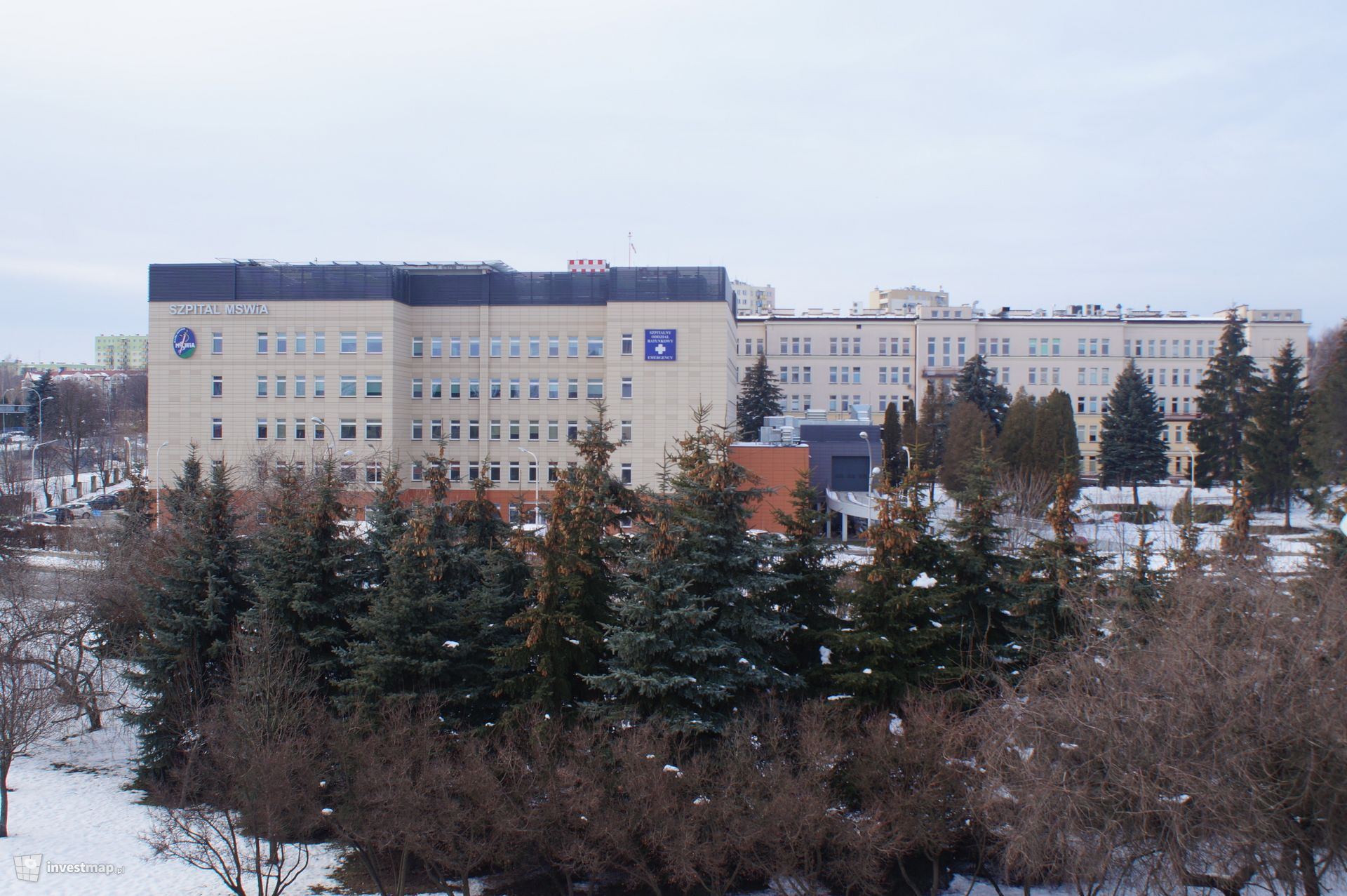 Szpital MSW, ul. Krakowska 16