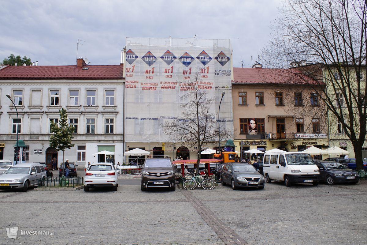 Zdjęcie Remont Elewacji, Plac Wolnica 9 fot. Damian Daraż