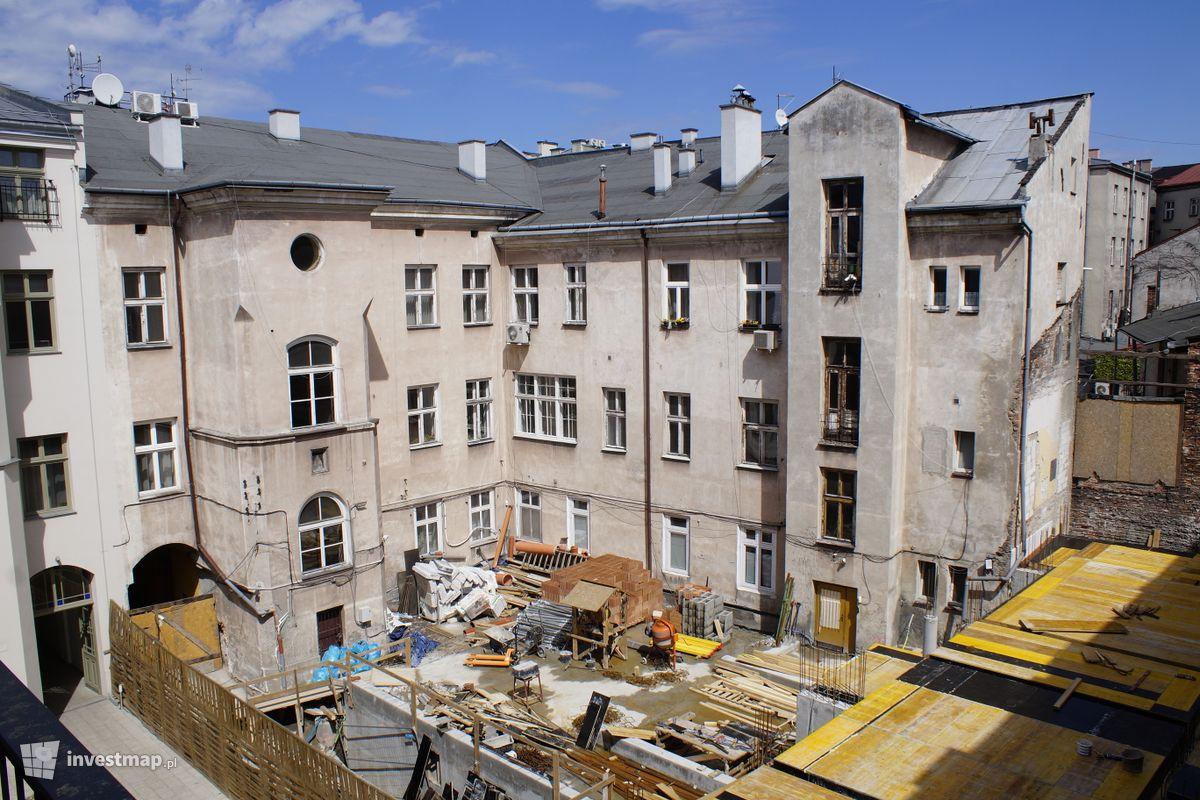 Zdjęcie Remont Kamienicy, ul. Krupnicza 8 fot. Damian Daraż