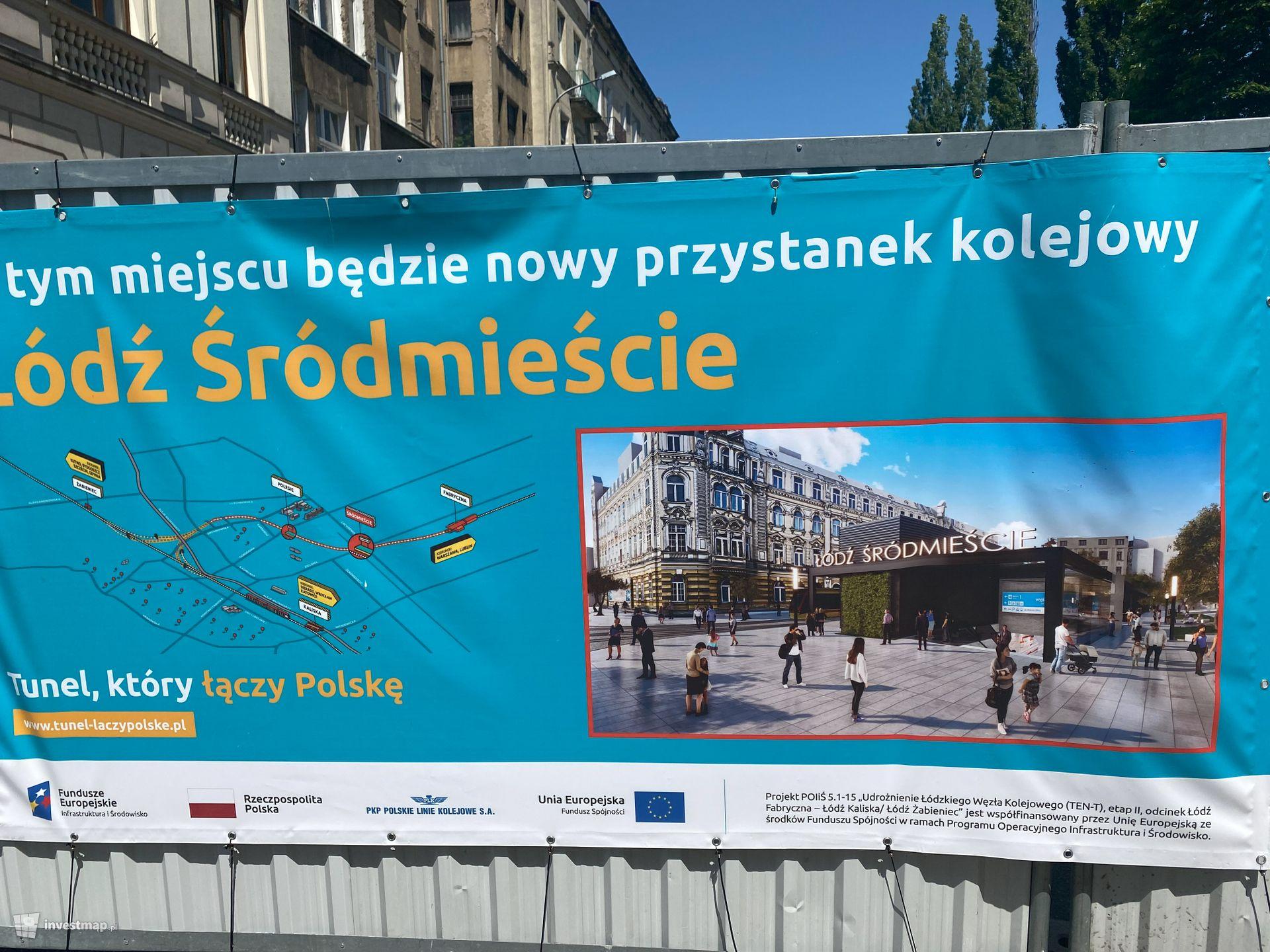 Przystanek kolejowy Łódź Śródmieście