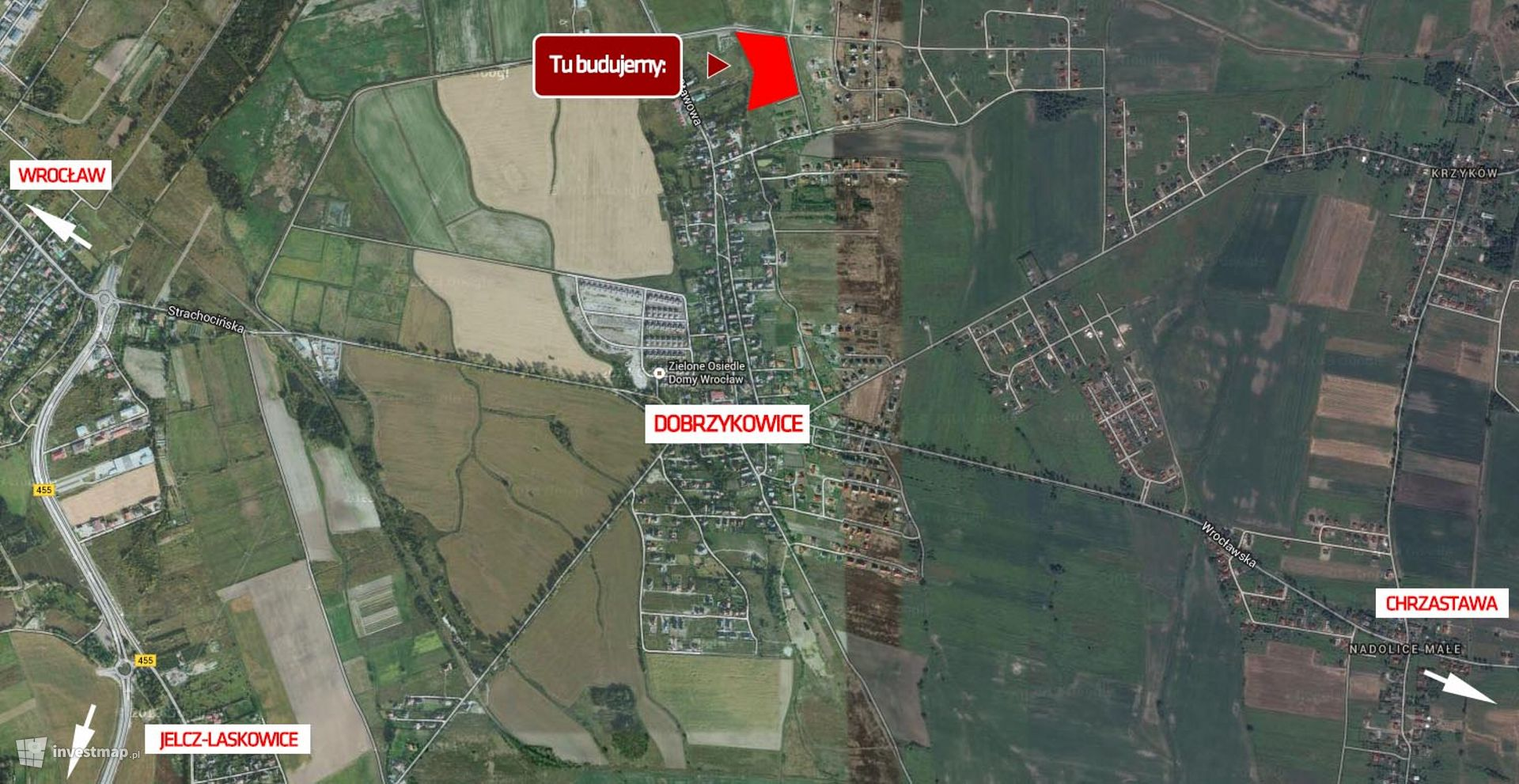 Osiedle Dobrzykowice, ul. Szafirowa/Brylantowa