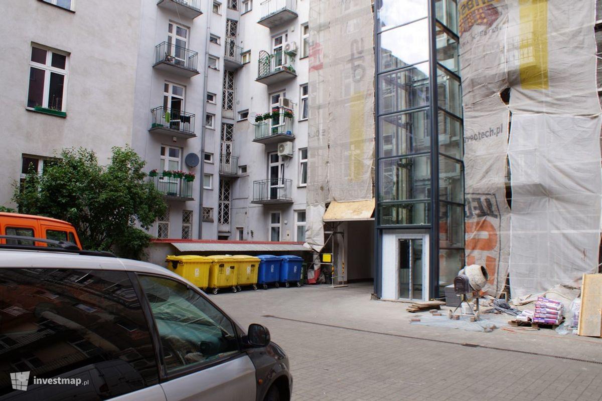 Zdjęcie Remont Elewacji, Al. Krasińskiego 8, 10 fot. Damian Daraż
