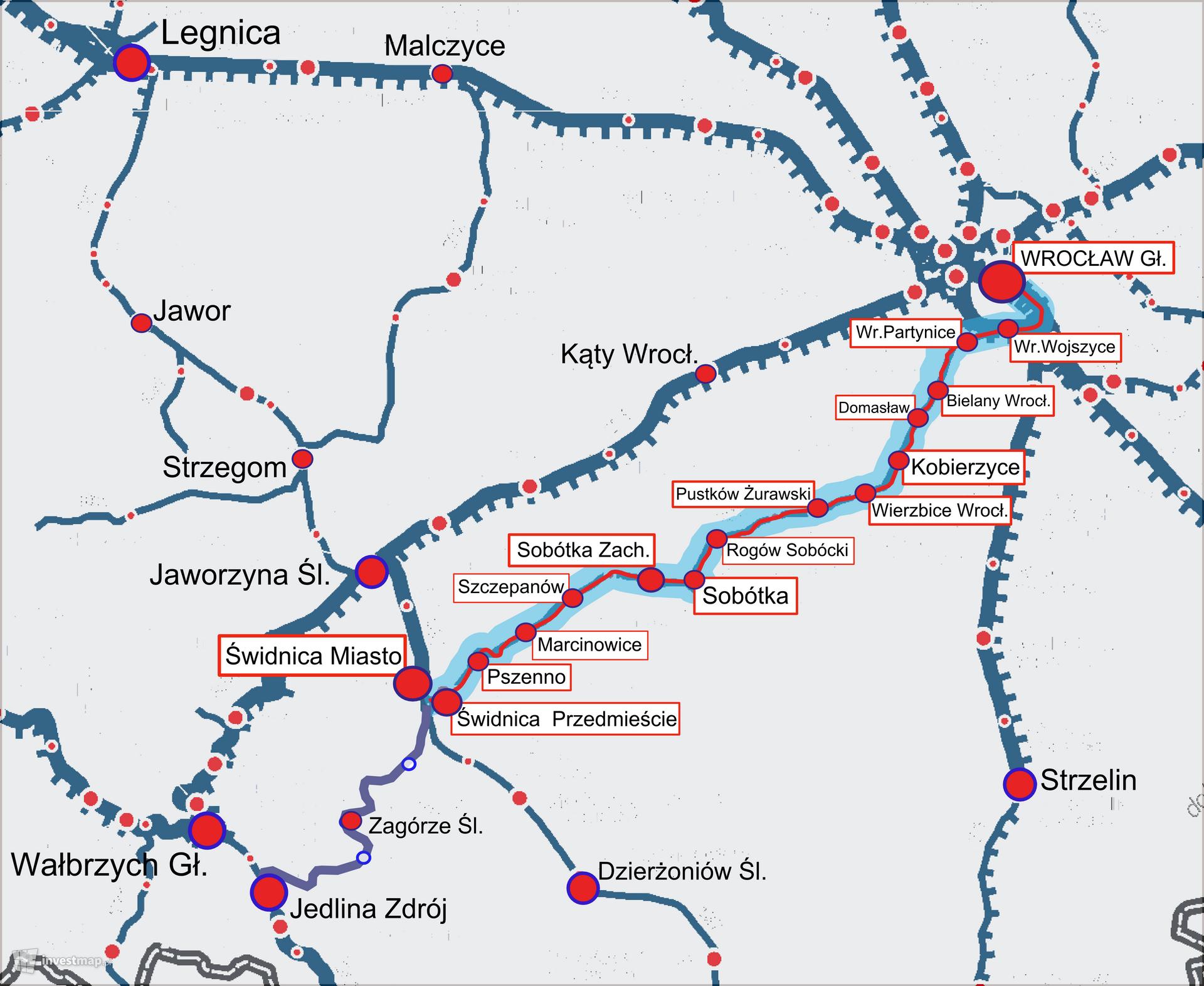 Rewitalizacja lini kolejowej nr 285