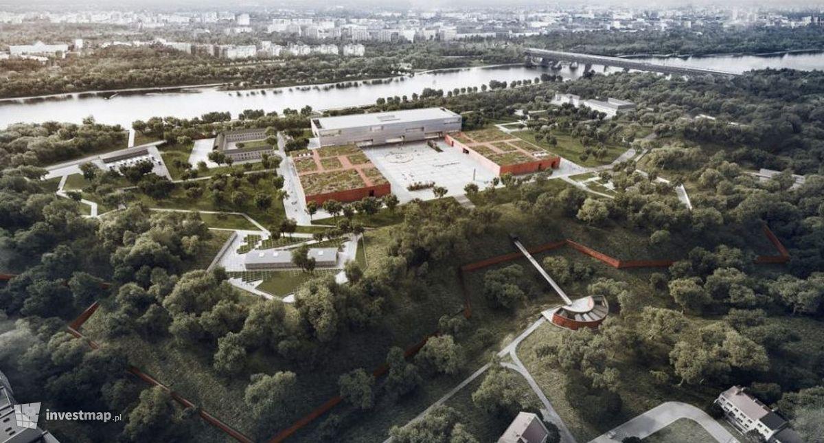 Wizualizacja Muzeum Wojska Polskiego dodał Orzech
