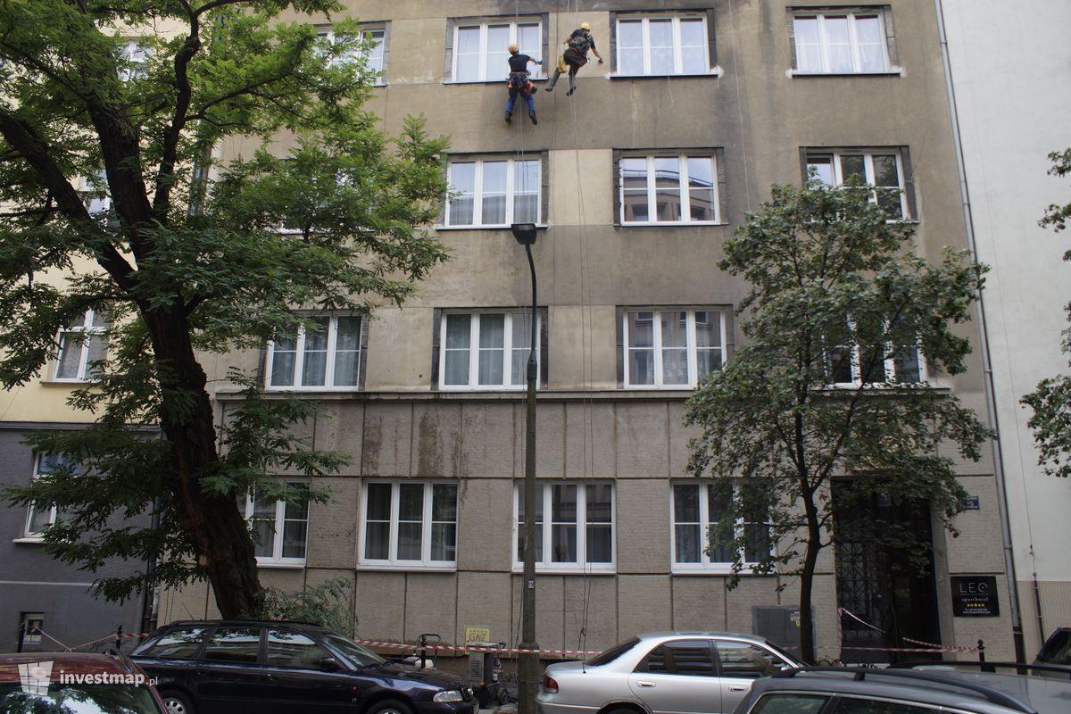 Zdjęcie Remont Kamienicy, ul. Żuławskiego 16 fot. Damian Daraż
