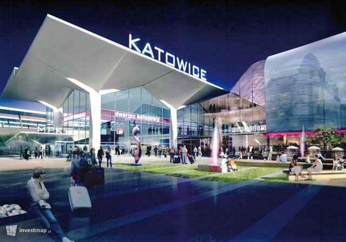 Wizualizacja Remont Dworca Głównego PKP i Galeria Katowicka dodał DlugiX