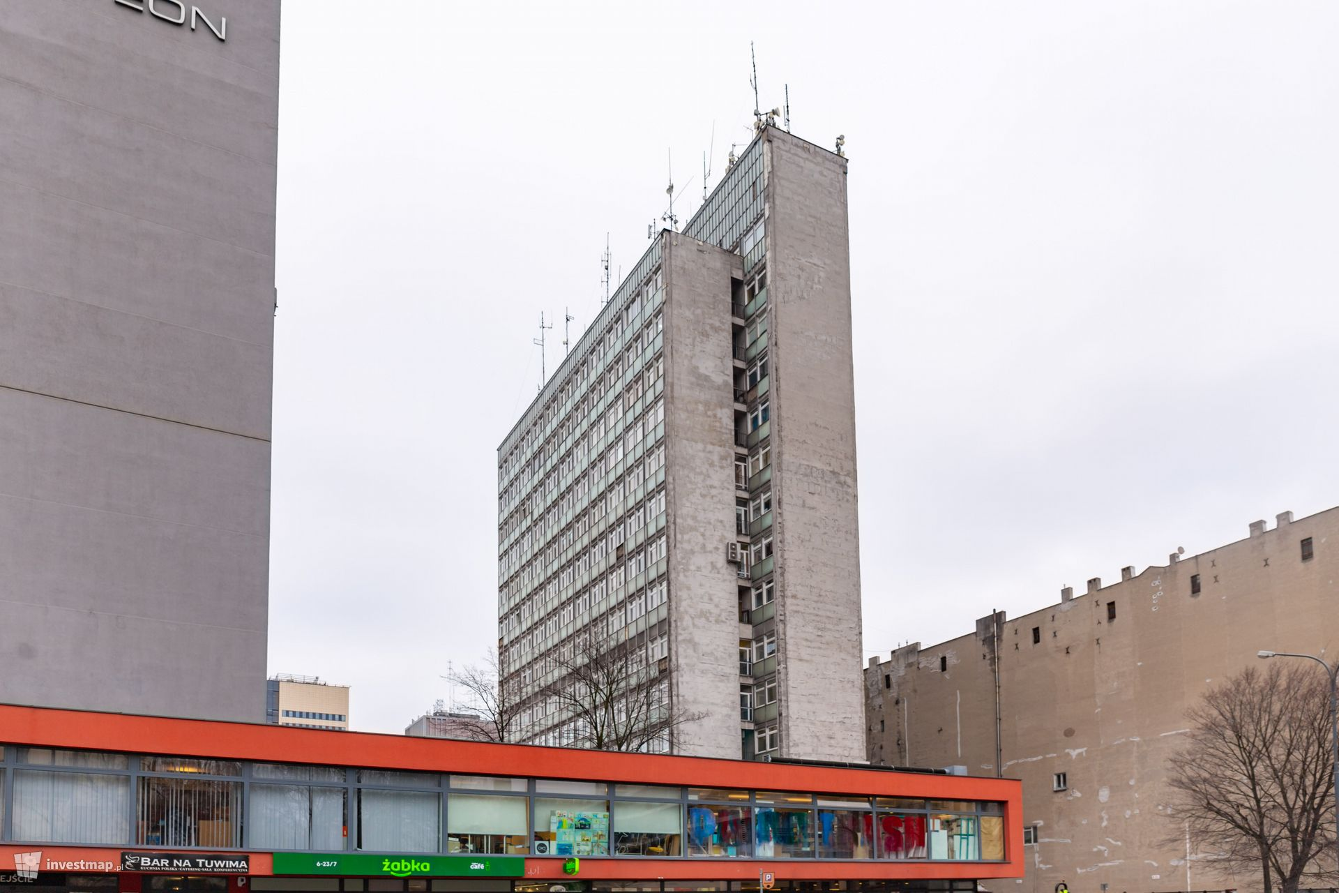 Wieżowiec PKP SA w Łodzi (Żyleta)