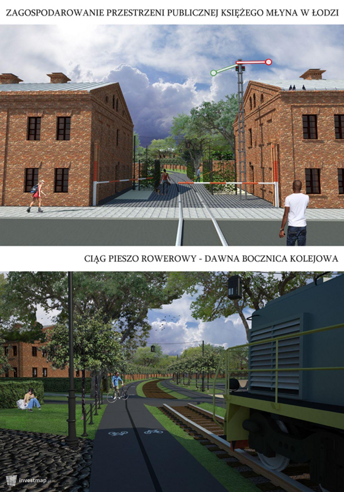 Wizualizacja Rewitalizacja zabytkowej XIX wiecznej fabryki Karola Scheiblera (Księży Młyn) dodał Kajtman