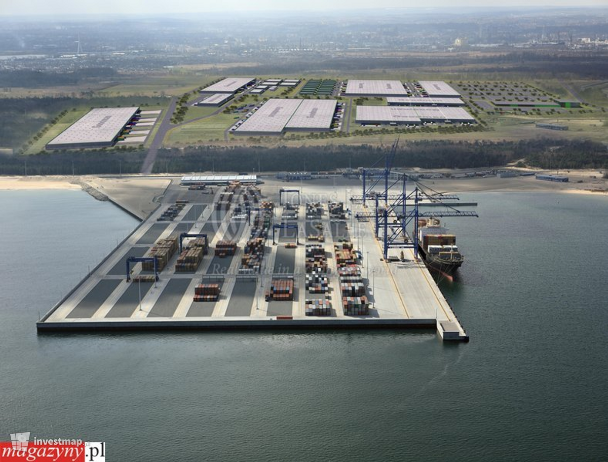 Zdjęcie Pomorskie Centrum Logistyczne fot. magazyny.pl