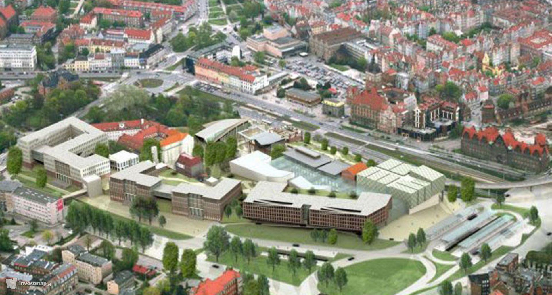 Targ Sienny i Targ Rakowy (przebudowa) oraz galeria Forum Gdańsk (dawne Forum Radunia)