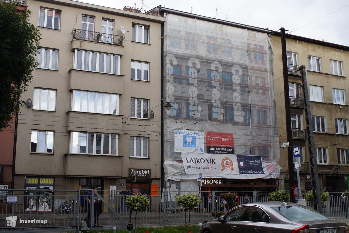 Zdjęcie Remont Kamienicy, ul. Starowiślna 82 fot. Damian Daraż