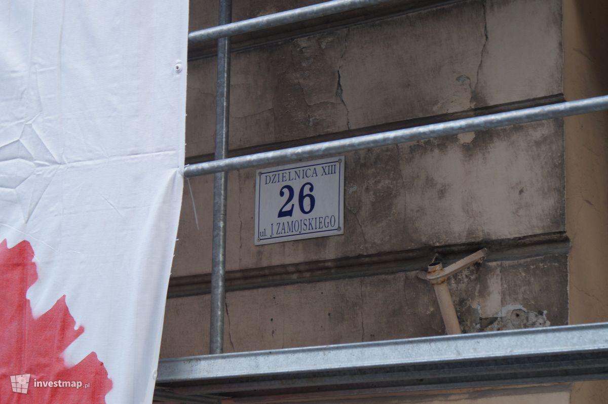 Zdjęcie Remont Kamienicy, ul. Zamoyskiego 26 fot. Damian Daraż