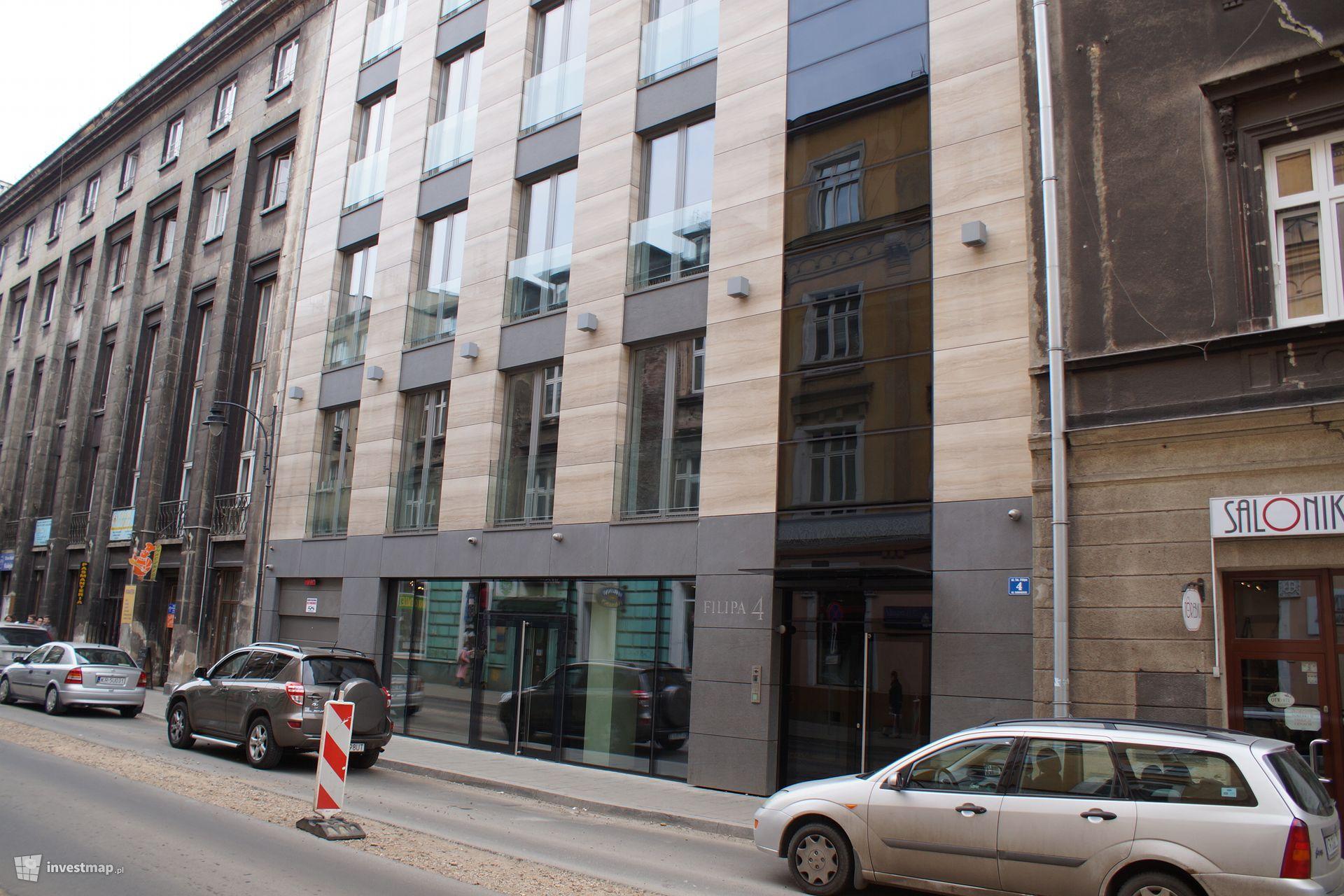 Budynek Biurowo - Usługowo - Mieszkalny, ul. Św. Filipa 4