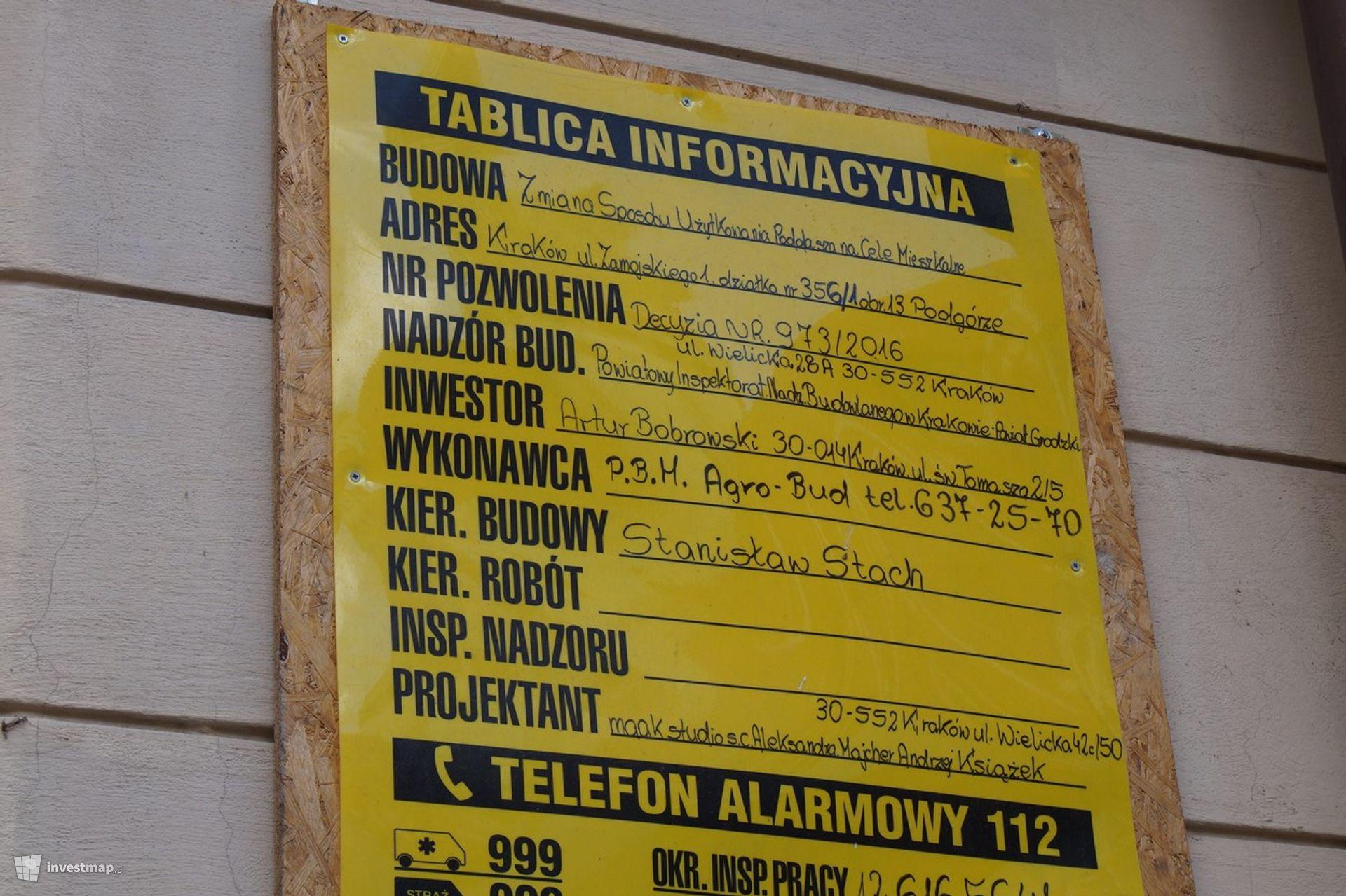 Remont Kamienicy, ul. Zamoyskiego 1