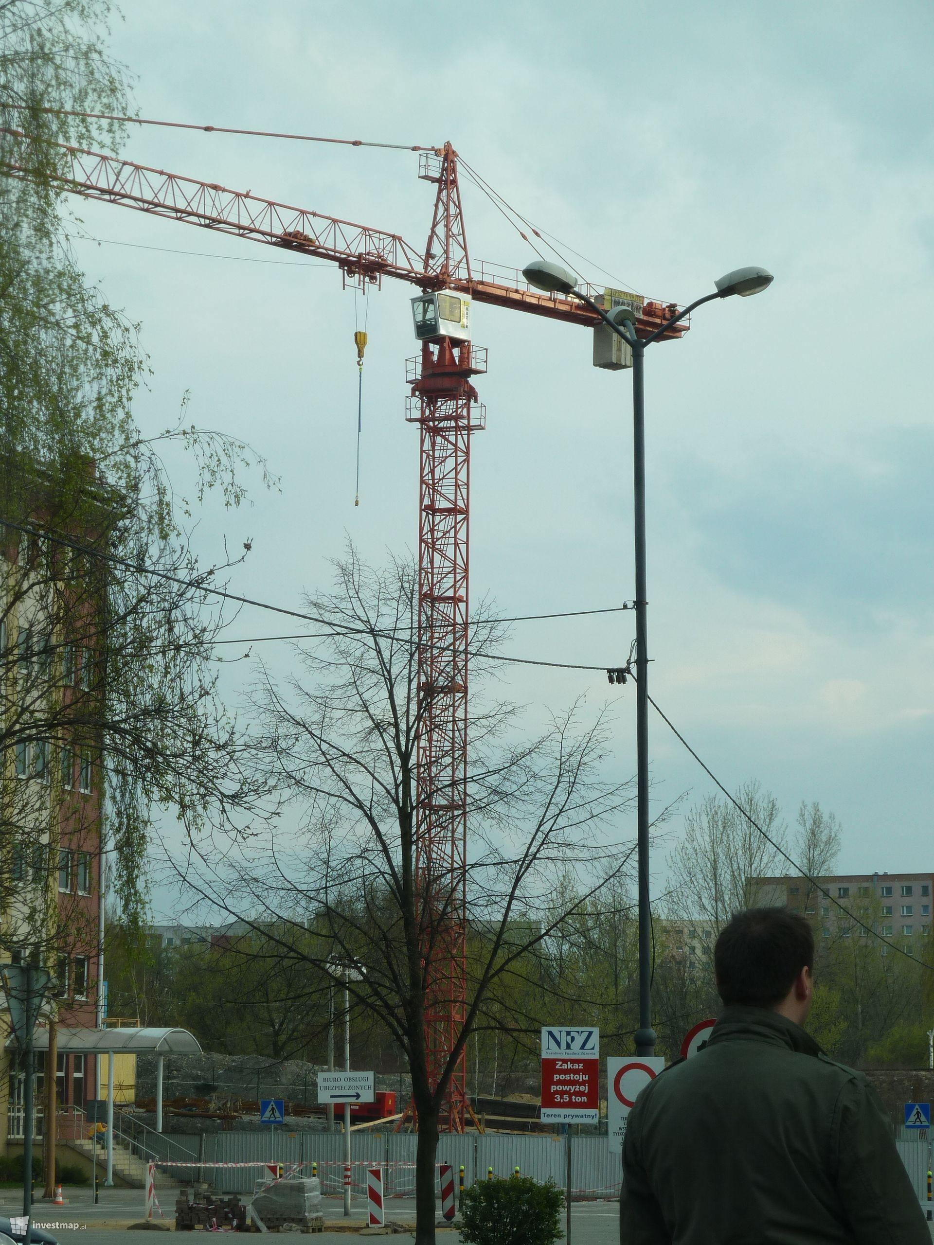 Rozbudowa budynku Śląskiego Oddziału Wojewódzkiego NFZ