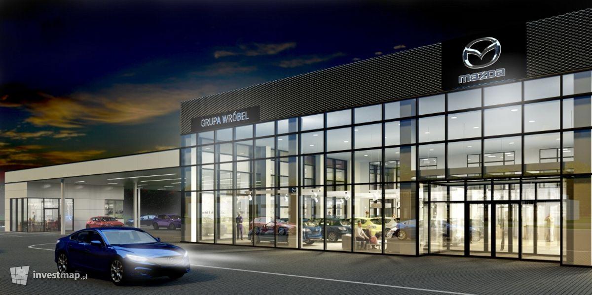Wizualizacja Salon Mazda Grupa Wróbel dodał Tomasz Matejuk