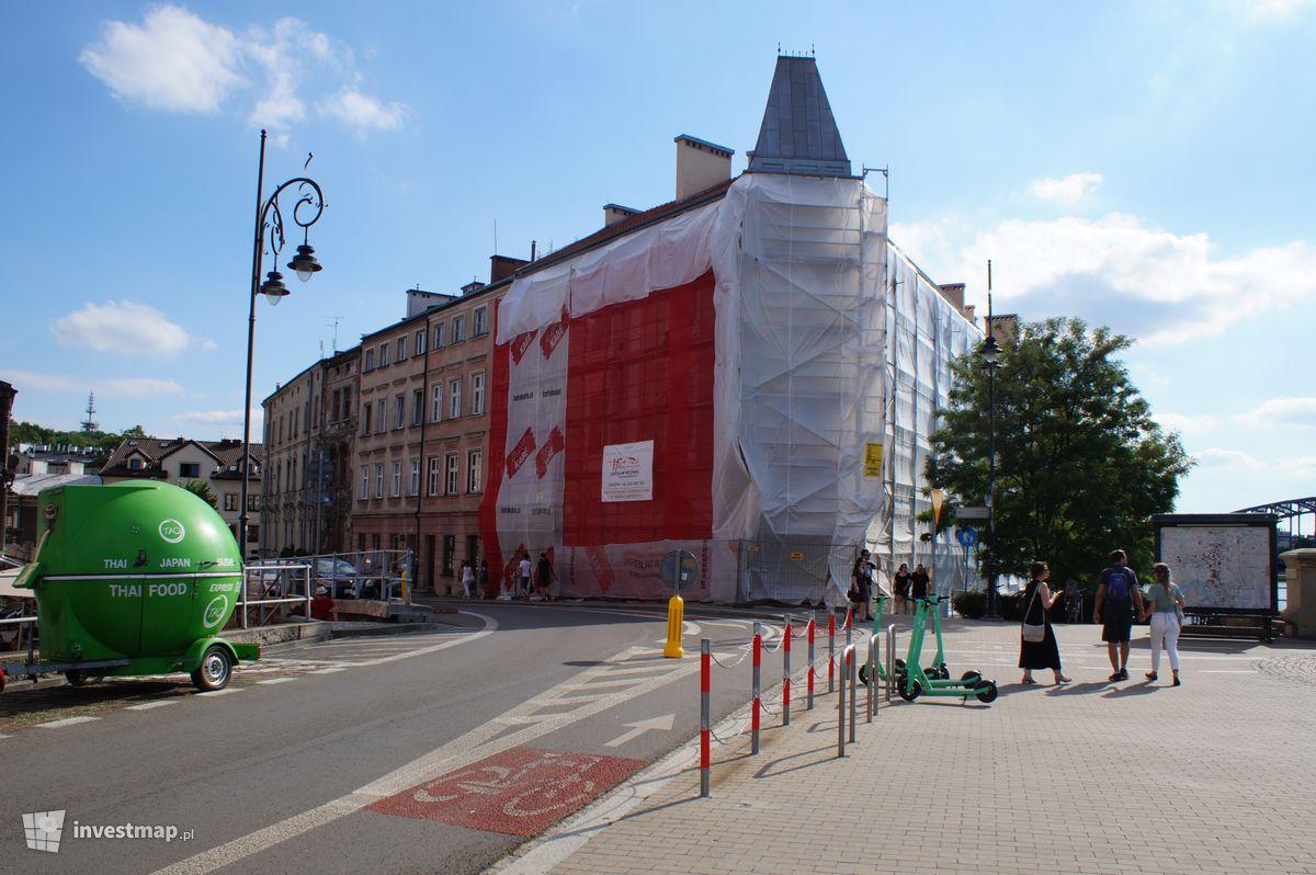 Zdjęcie Remont Kamienicy, ul. Przy Moście 1 fot. Damian Daraż