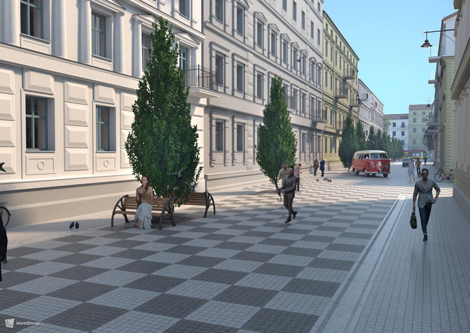 Rewitalizacja ulicy Włókienniczej