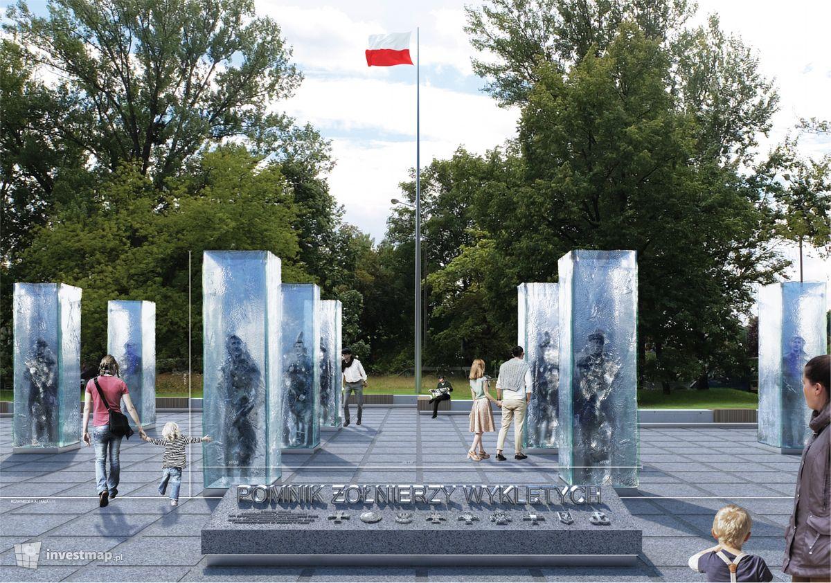 Wizualizacja Pomnik Żołnierzy Niezłomnych (Wyklętych) dodał Mariusz Bartodziej