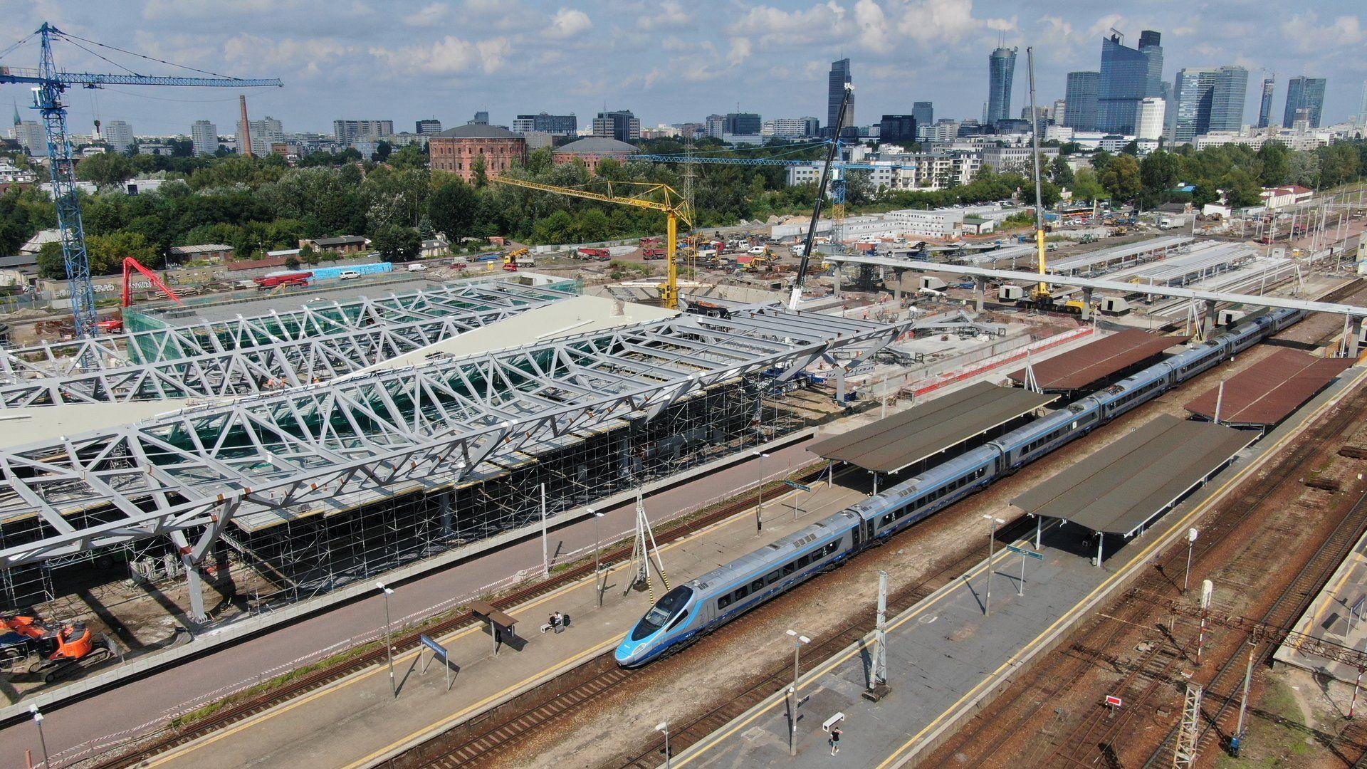 Nowy dworzec Warszawa Zachodnia zwiększy rolę kolei nie tylko w stolicy [FILM + ZDJĘCIA]