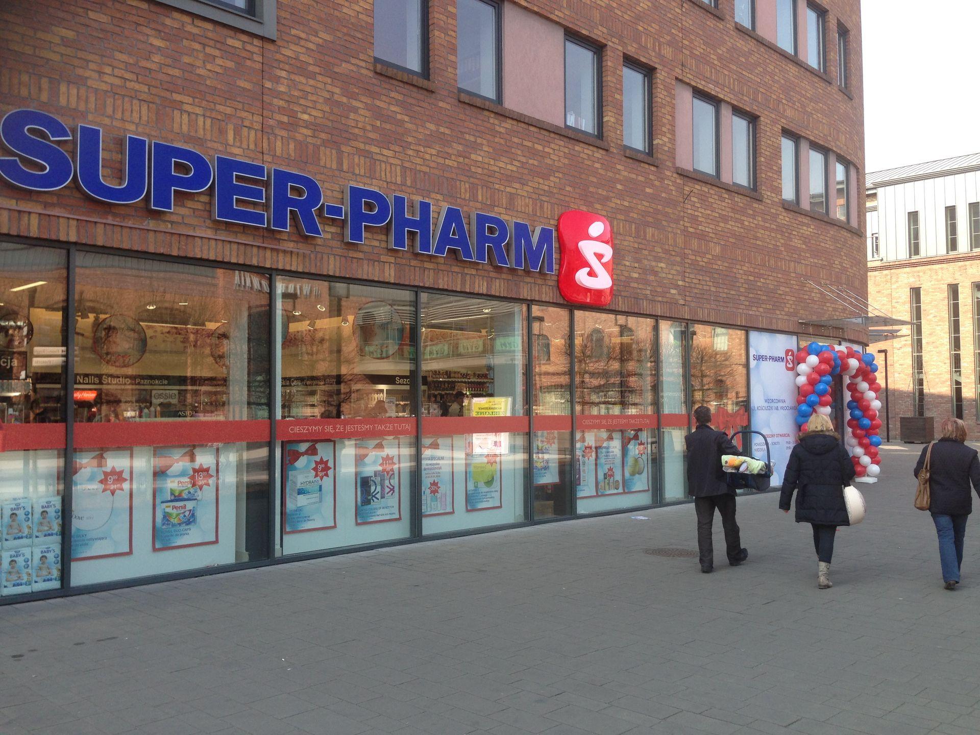 [kujawsko-pomorskie] Pierwszy sklep Super-Pharm we Włocławku otworzył się we Wzorcowni