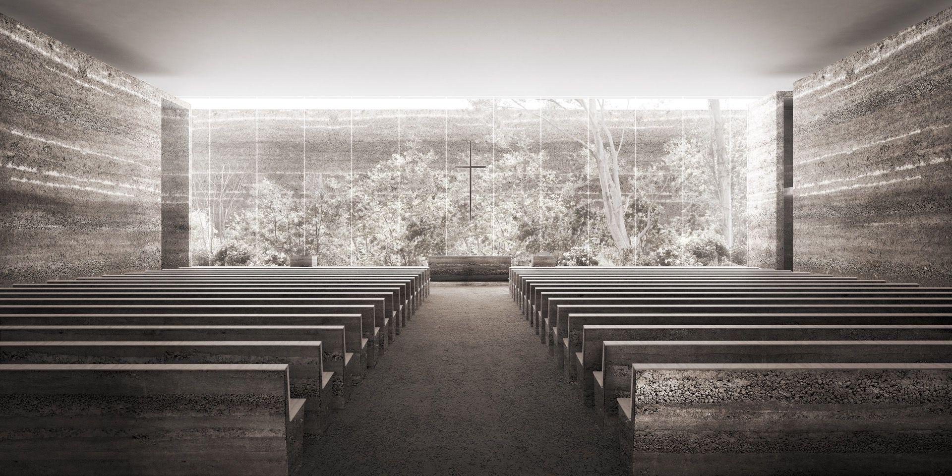 [Wrocław] Projekt kościoła na Nowych Żernikach walczy w międzynarodowym konkursie [WIZUALIZACJE]