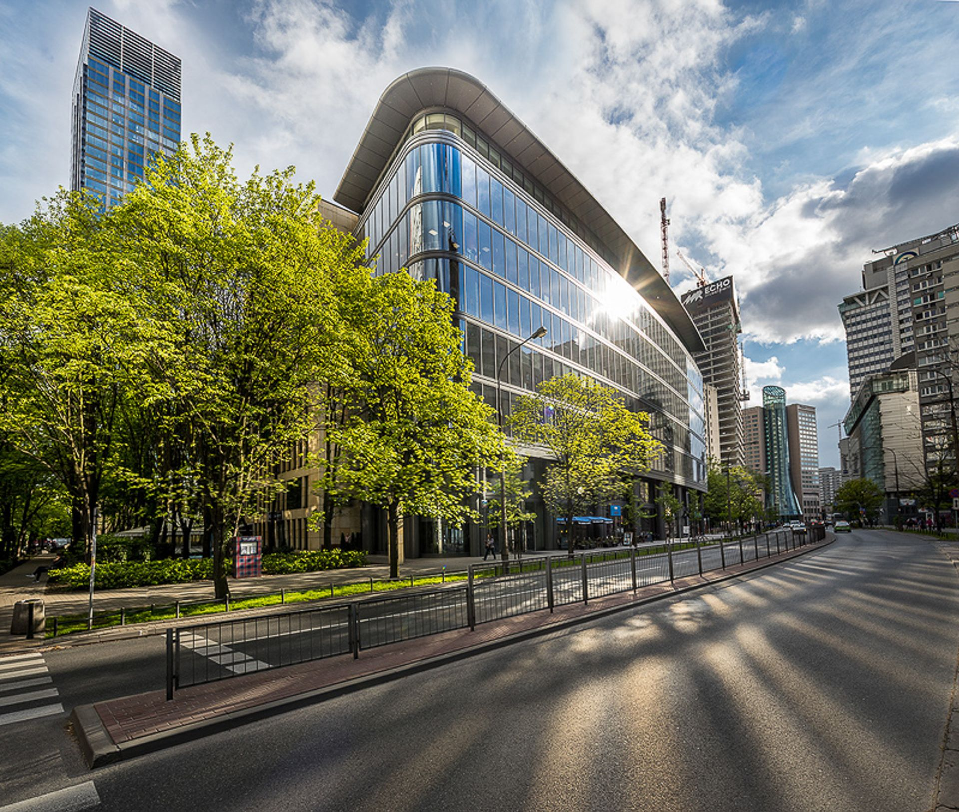 [Warszawa] Accenture Services w biurowcu Grzybowska Park