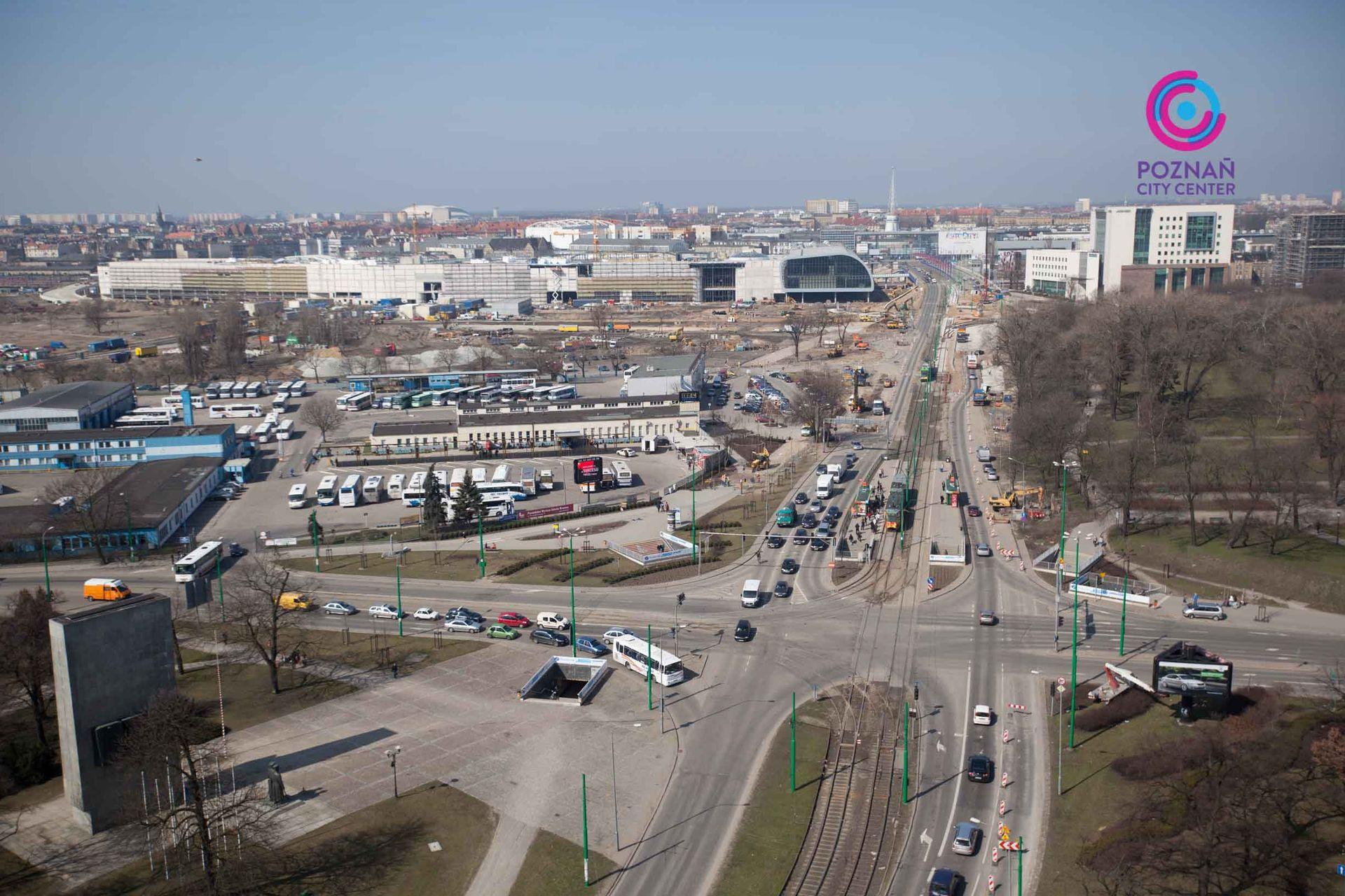 [Poznań] Przyspiesza budowa układu komunikacyjnego wokół Zintegrowanego Centrum Komunikacyjnego w Poznaniu