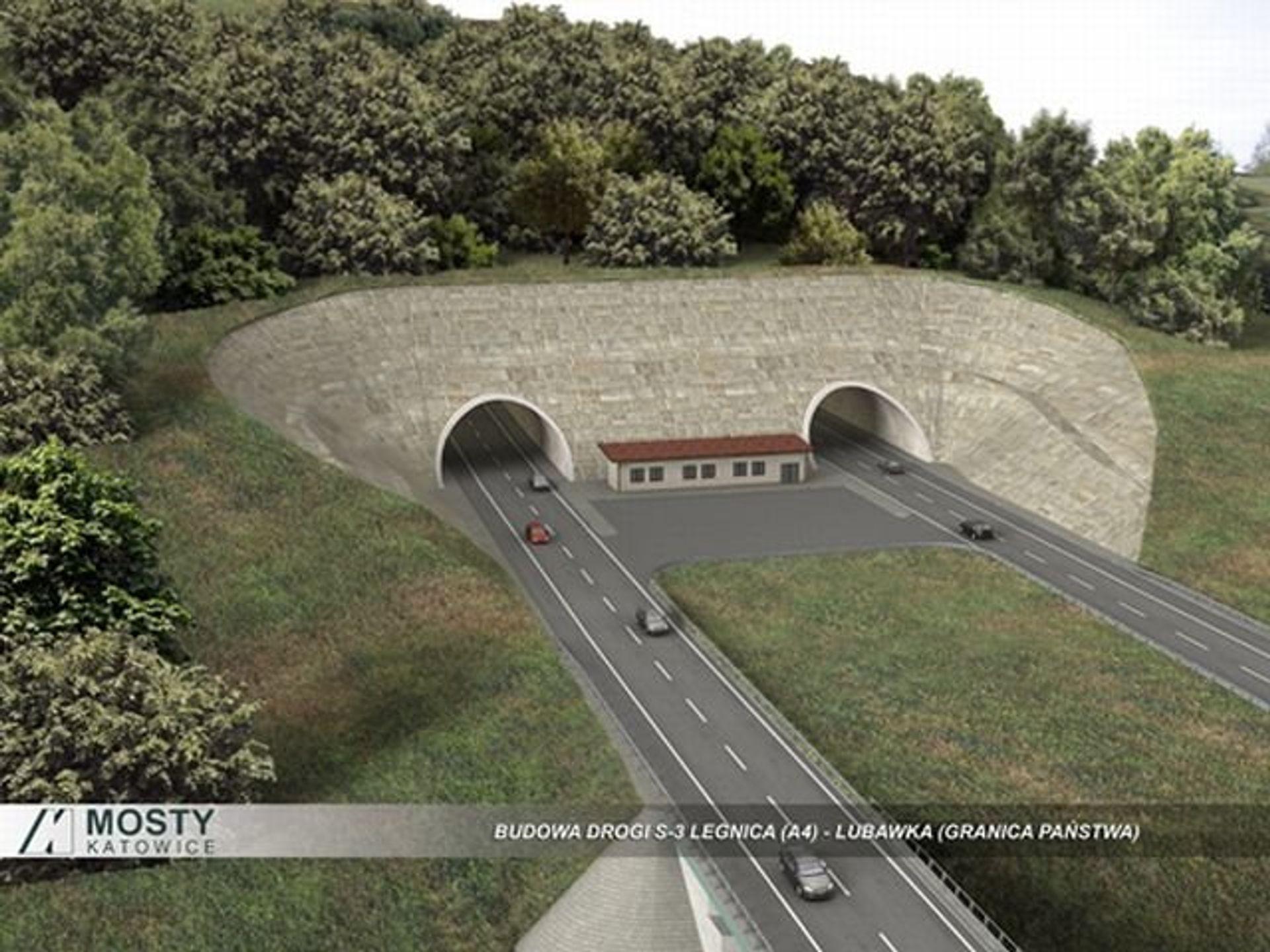 [dolnośląskie] Najdłuższy polski tunel drogowy ponad 10 razy krótszy niż światowy rekordzista