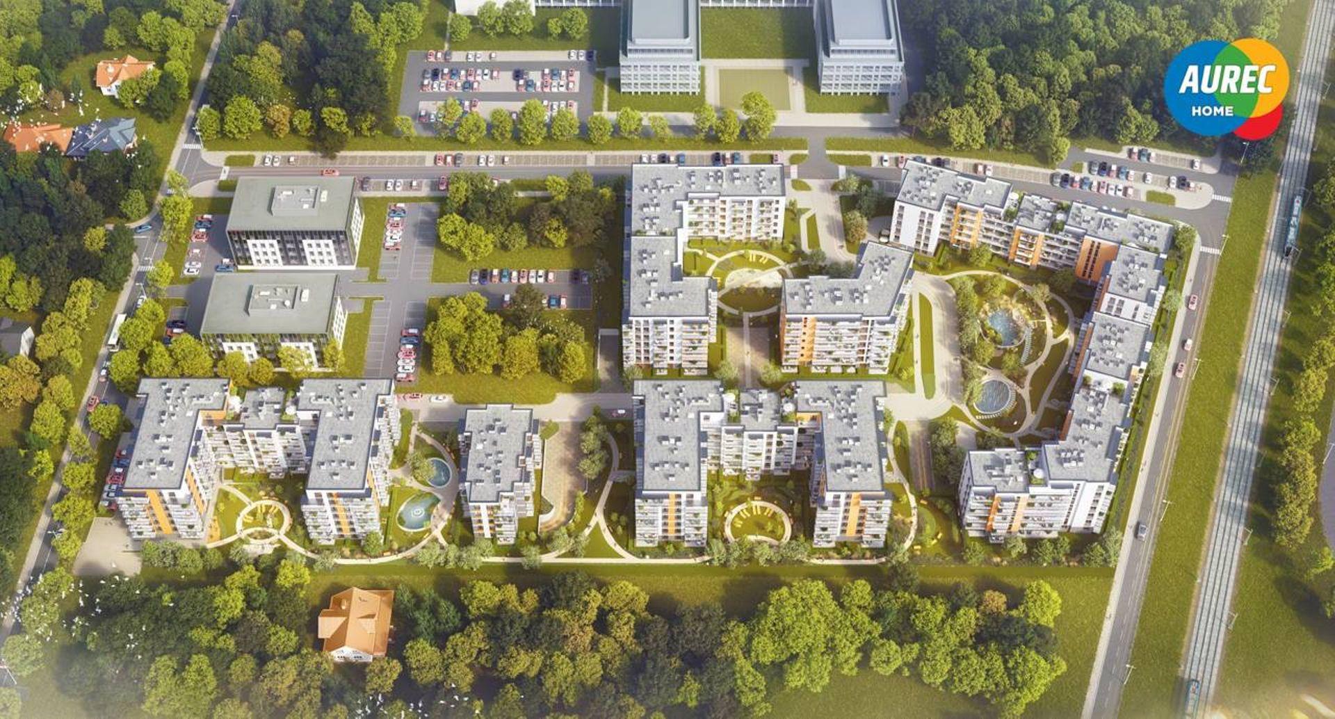 Warszawa: Miasteczko Jutrzenki – Aurec zbuduje ponad pół tysiąca mieszkań we Włochach