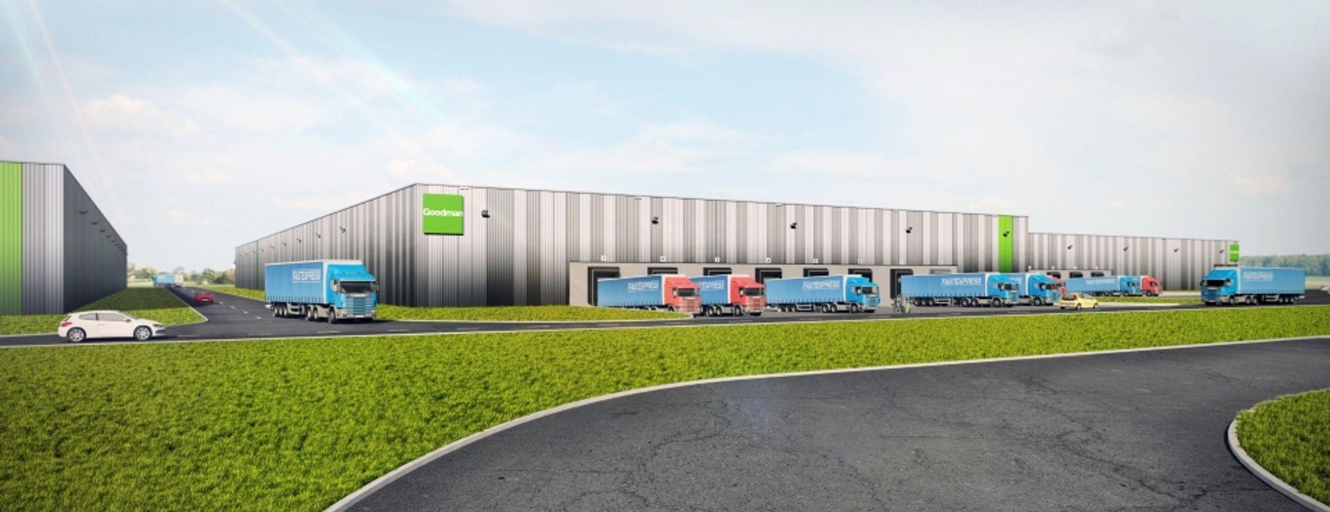 [Aglomeracja Wrocławska] Goodman wybuduje następne wielkie centrum magazynowe [WIZUALIZACJE]