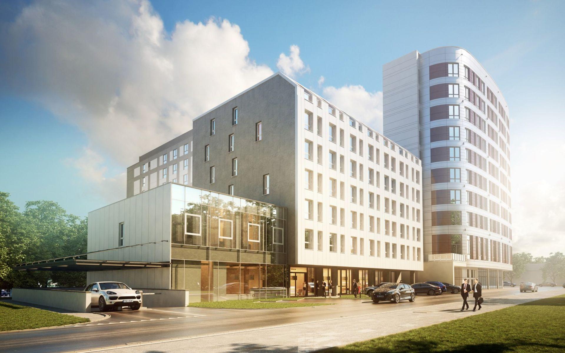 Grupa Arche buduje kolejny hotel w Warszawie