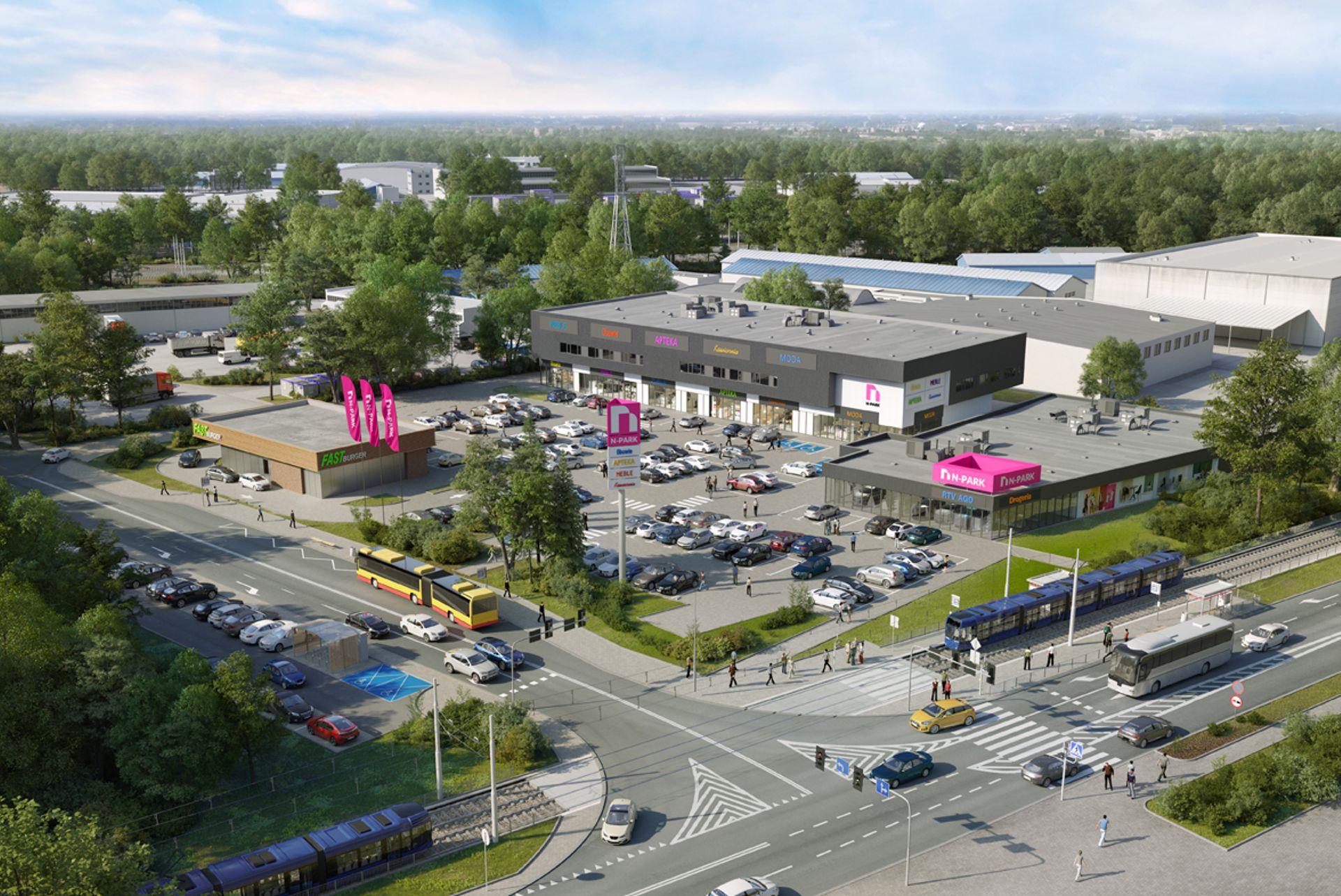 We Wrocławiu powstanie nowy park handlowo-usługowy [WIZUALIZACJE + FILM]